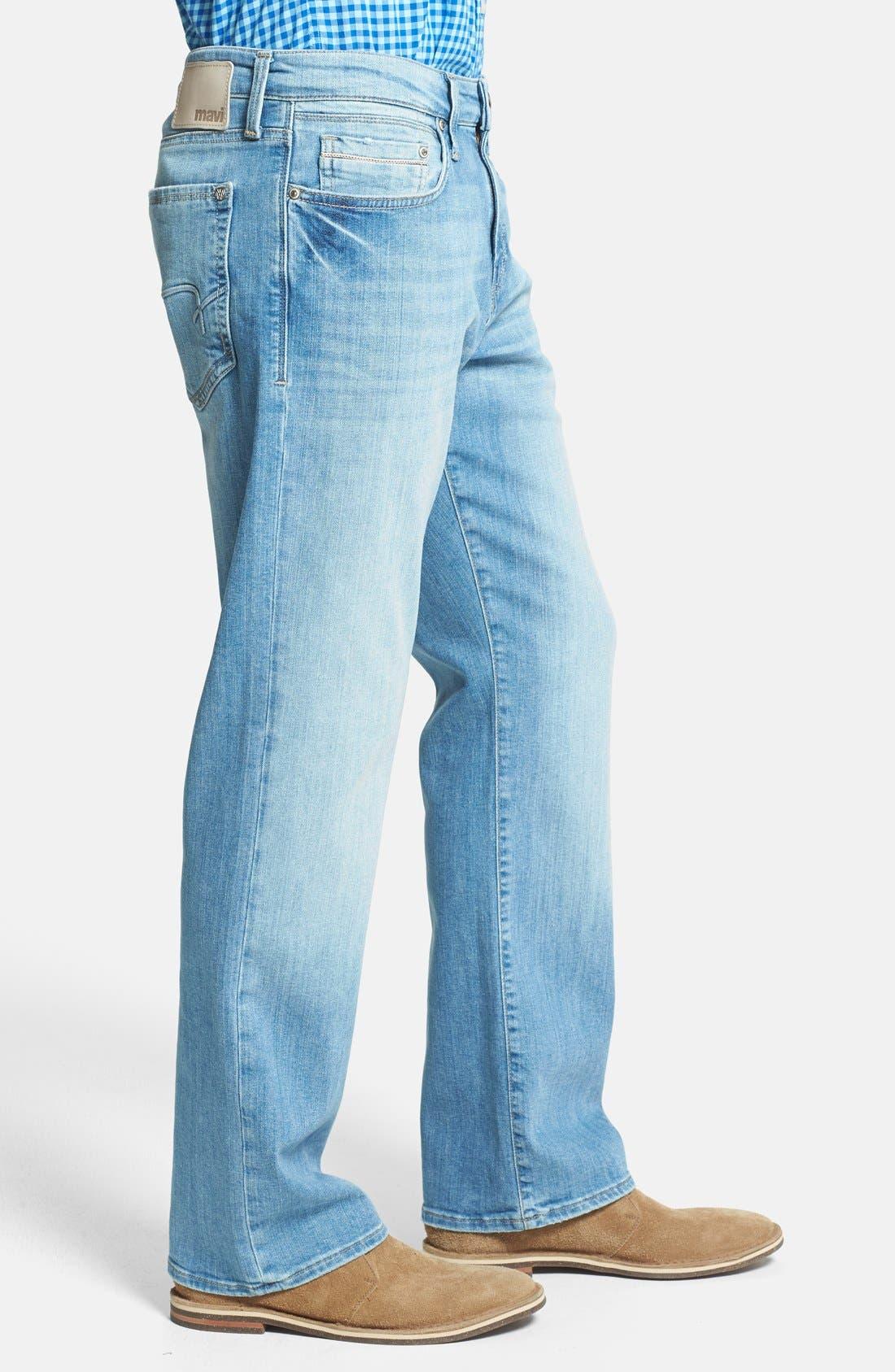 Alternate Image 3  - Mavi Jeans 'Matt' Relaxed Fit Jeans (Light Yaletown)