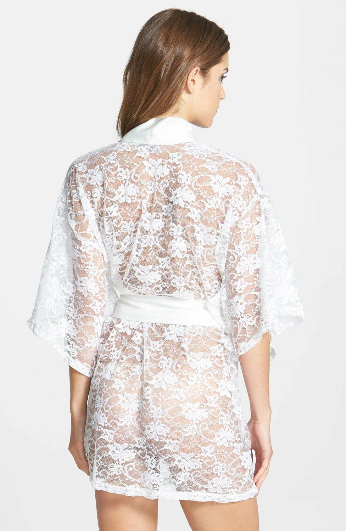 Alternate Image 2  - Flora Nikrooz 'Infatuation' Lace Robe