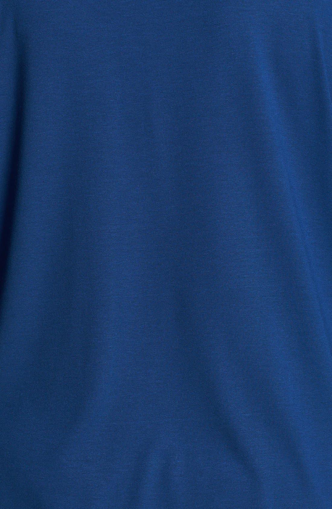 Alternate Image 3  - Eileen Fisher Ballet Neck Jersey Tee (Plus Size)
