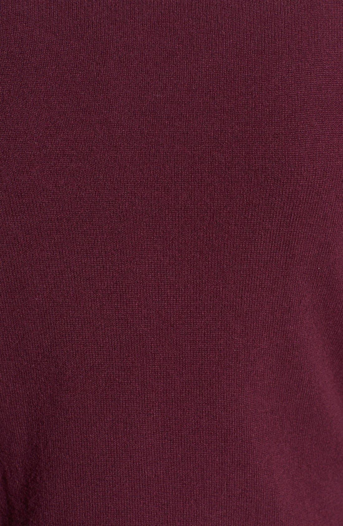 Alternate Image 3  - Nordstrom Collection Ballet Neck Cashmere Sweater