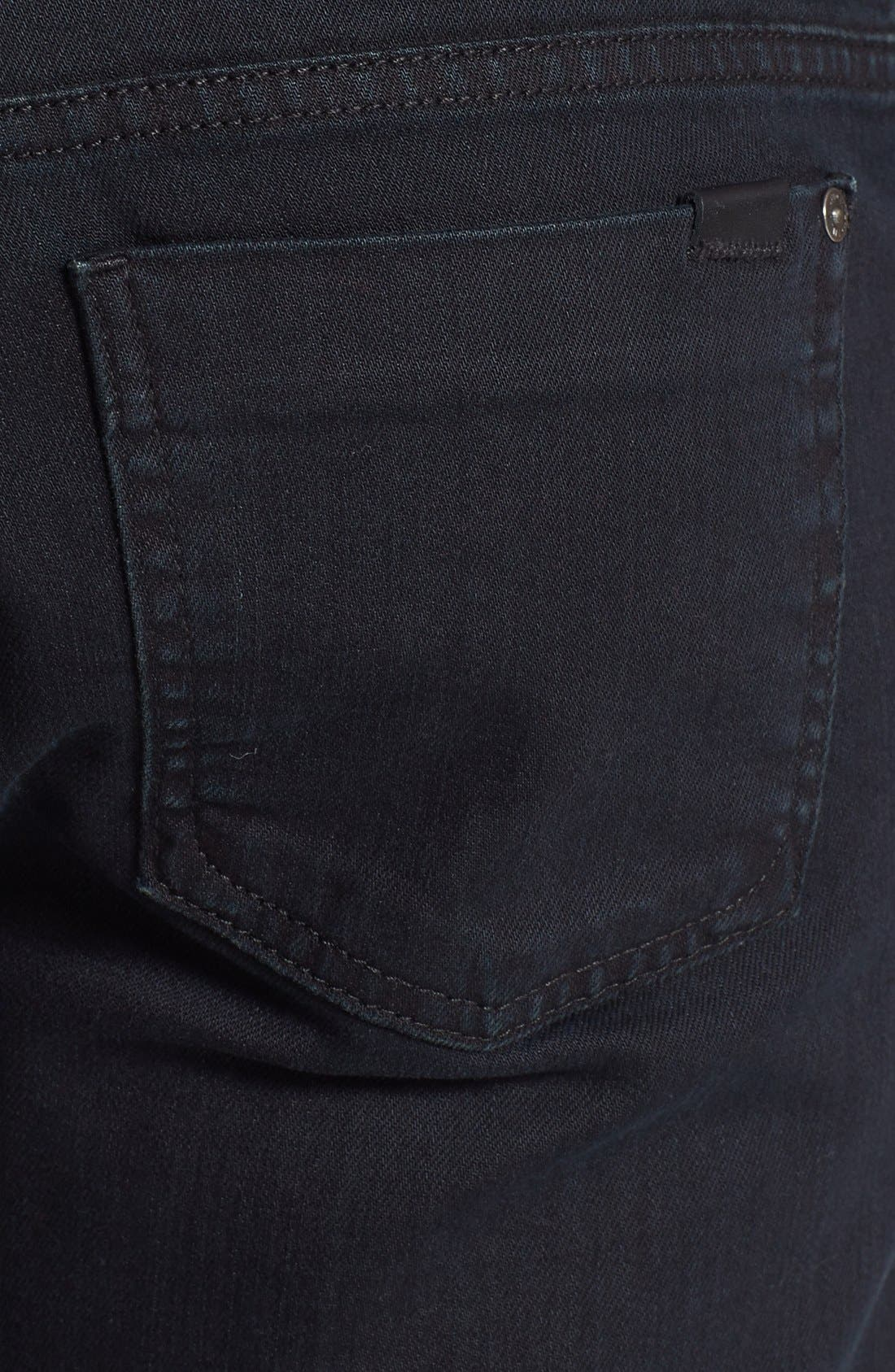 Alternate Image 4  - Fidelity Denim '50-11' Straight Leg Jeans (Town Black Vintage)