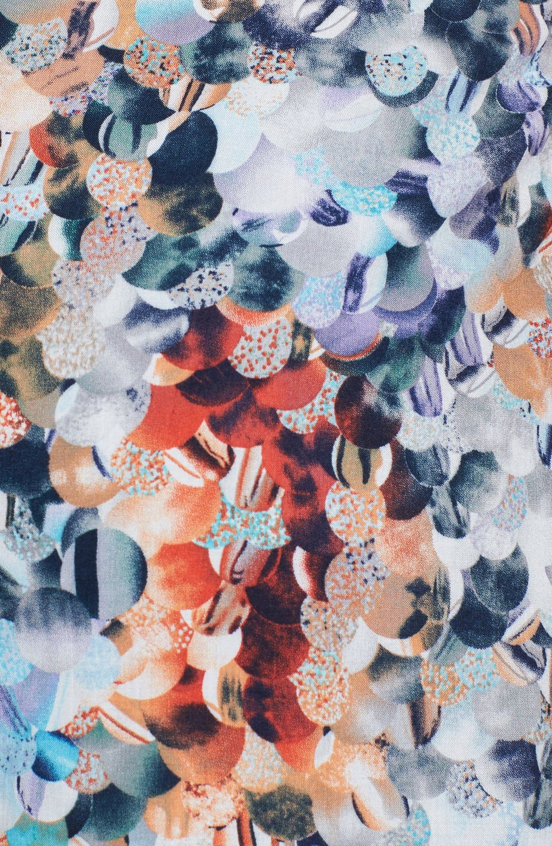 Alternate Image 3  - Lily White Print Shorts (Juniors)