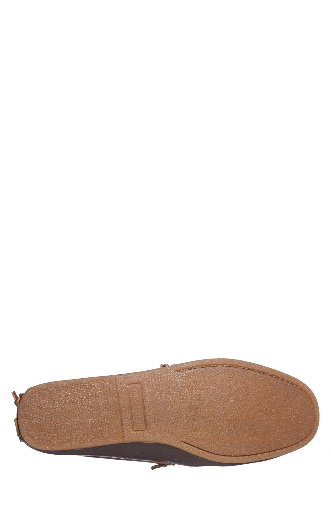 Venetian Loafer,                             Alternate thumbnail 4, color,                             Dark Brown