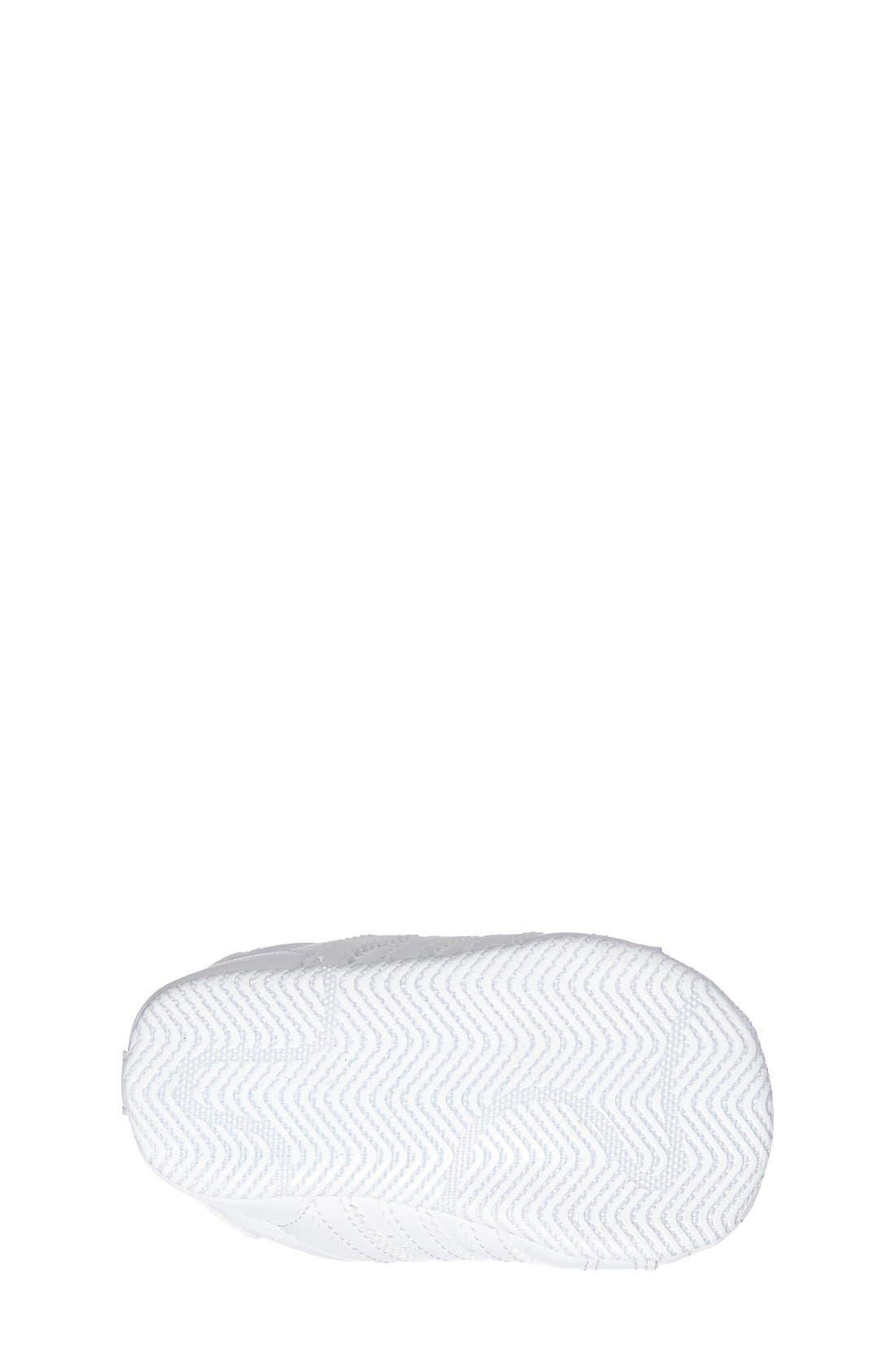 Alternate Image 4  - adidas 'Superstar 2' Crib Shoe (Baby)