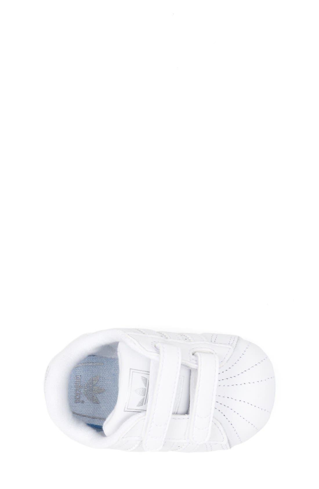 Alternate Image 3  - adidas 'Superstar 2' Crib Shoe (Baby)