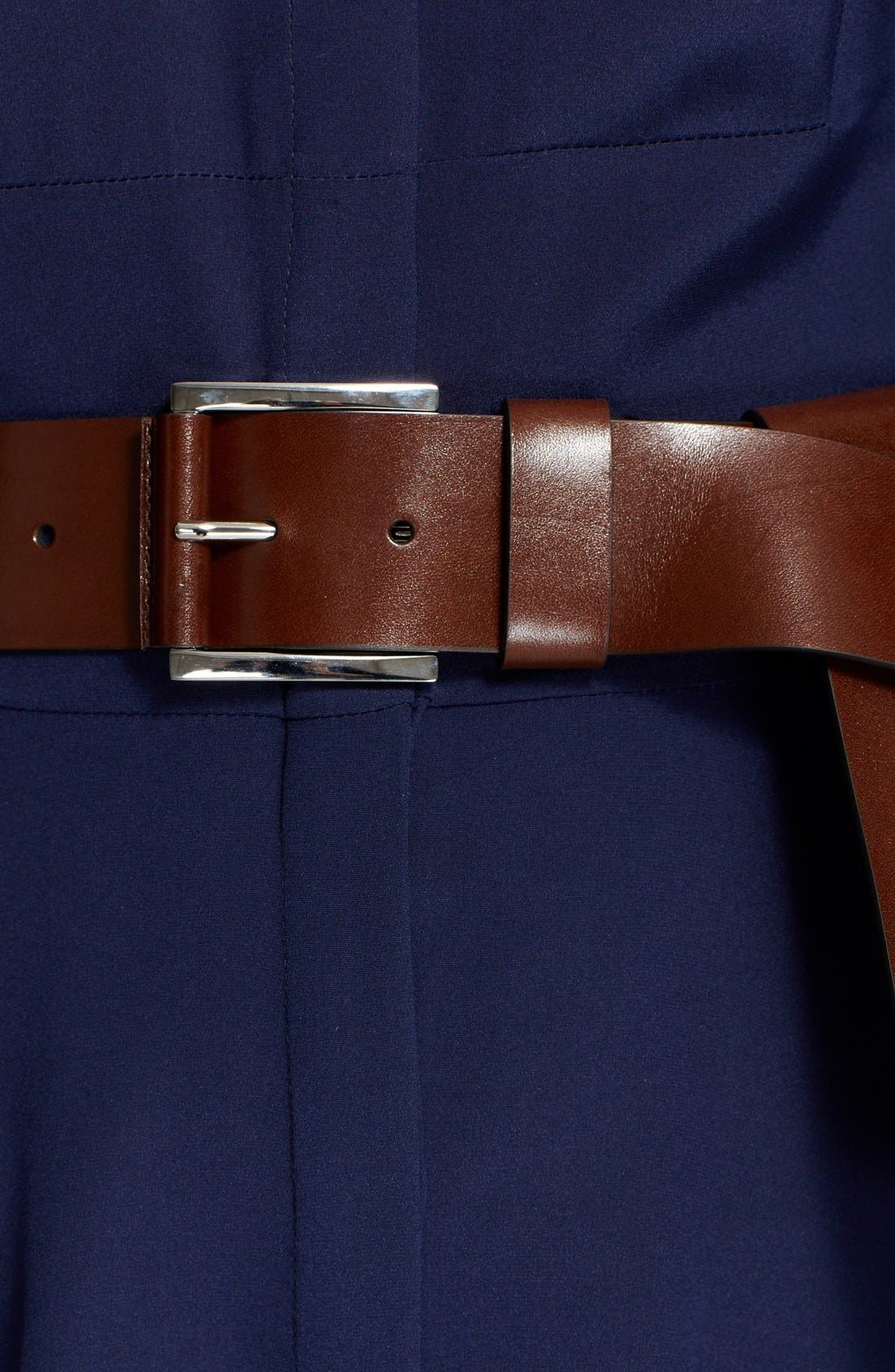 Alternate Image 2  - Michael Kors Flip Tie Leather Belt
