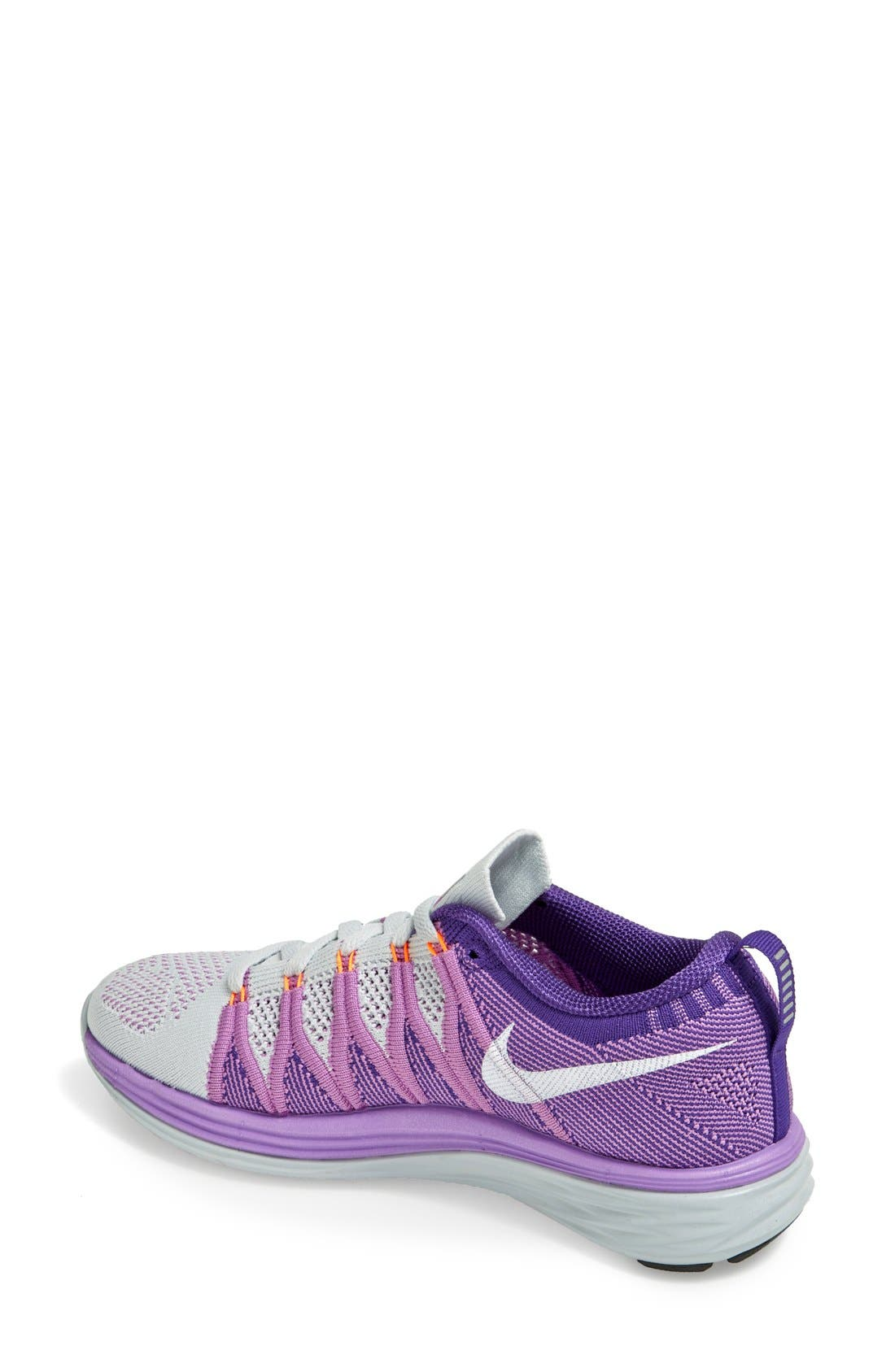 Alternate Image 2  - Nike 'Flyknit Lunar2' Running Shoe (Women)