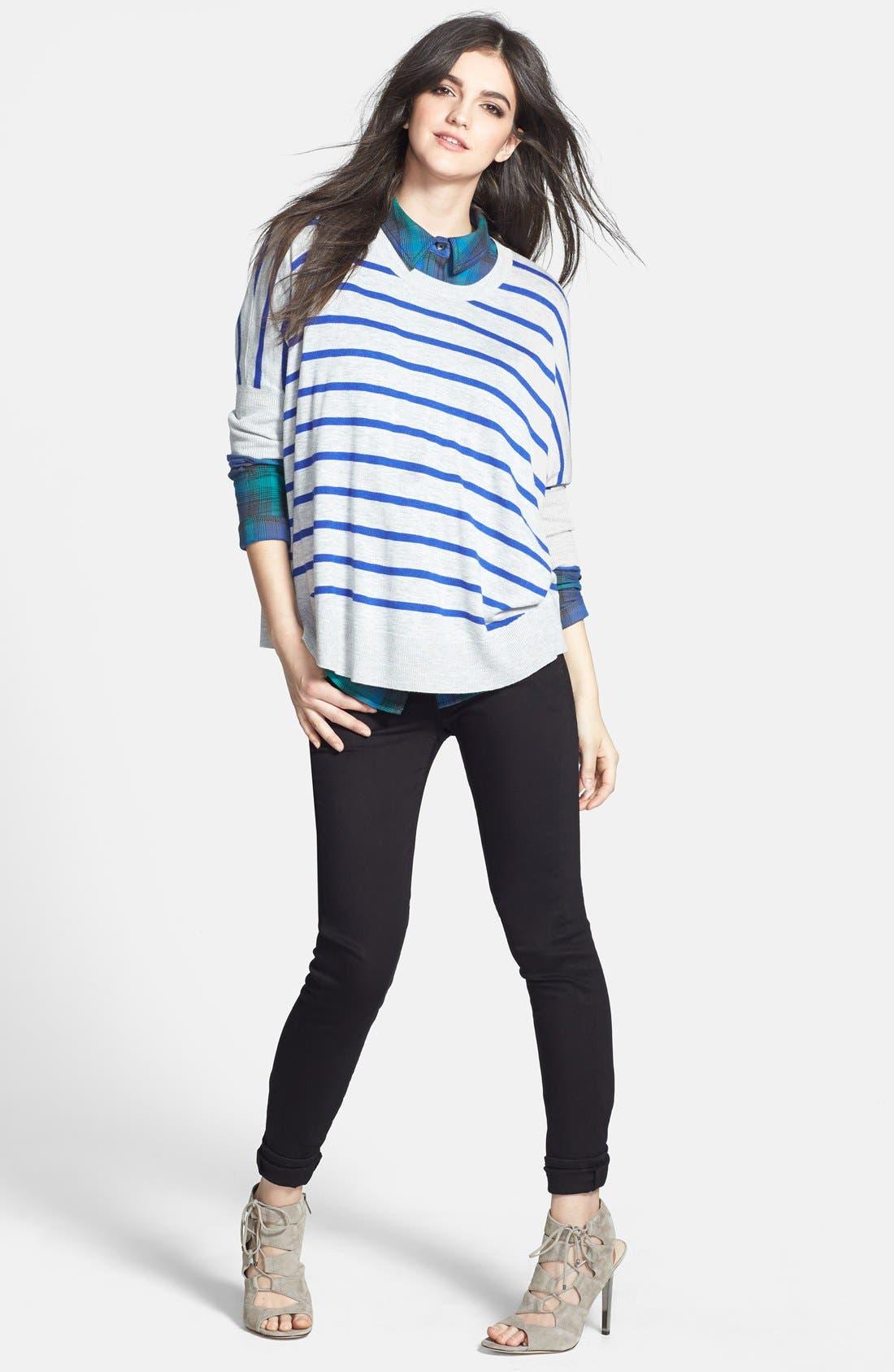 Alternate Image 4  - Splendid 'Upton' Space Dye Stripe Sweater (Nordstrom Exclusive)