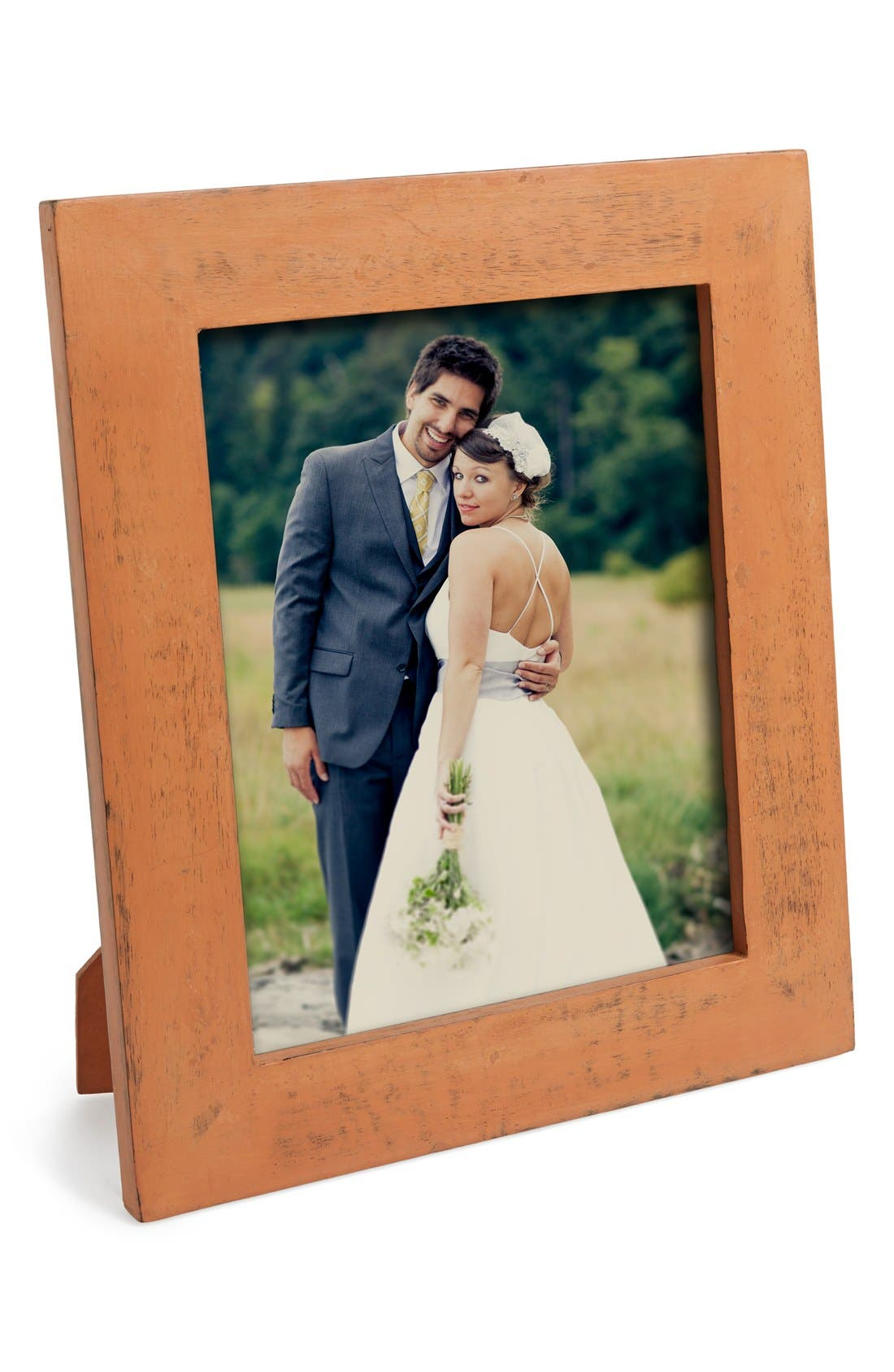 Main Image - MG Décor Distressed Picture Frame (4x6)
