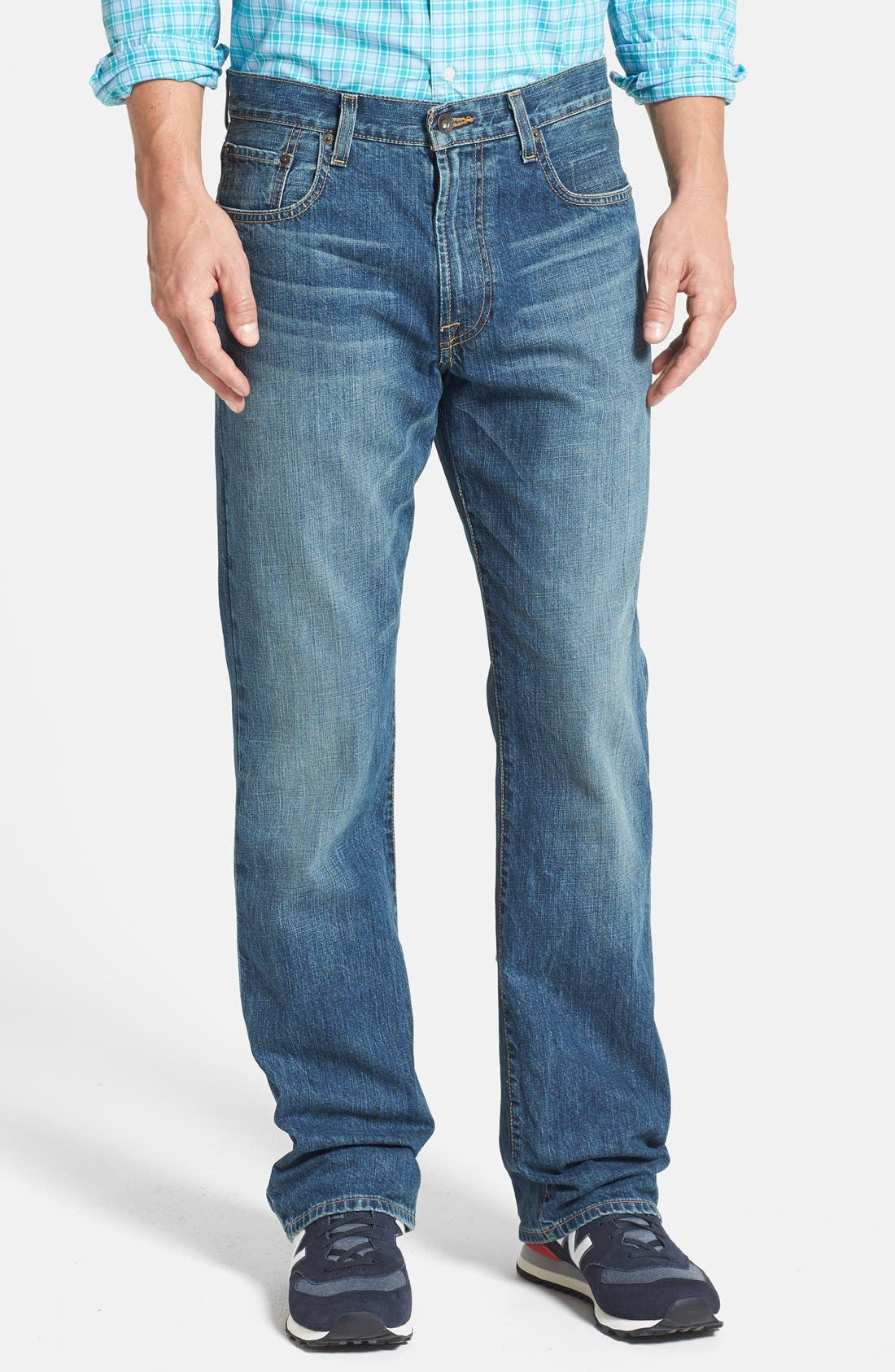 Alternate Image 1 Selected - Lucky Brand '181' Relaxed Fit Jeans (Dellwood) (Online Only)