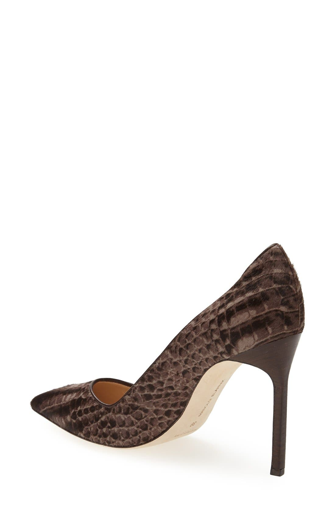 Alternate Image 2  - Manolo Blahnik 'BB' Calf Hair Pump (Women)