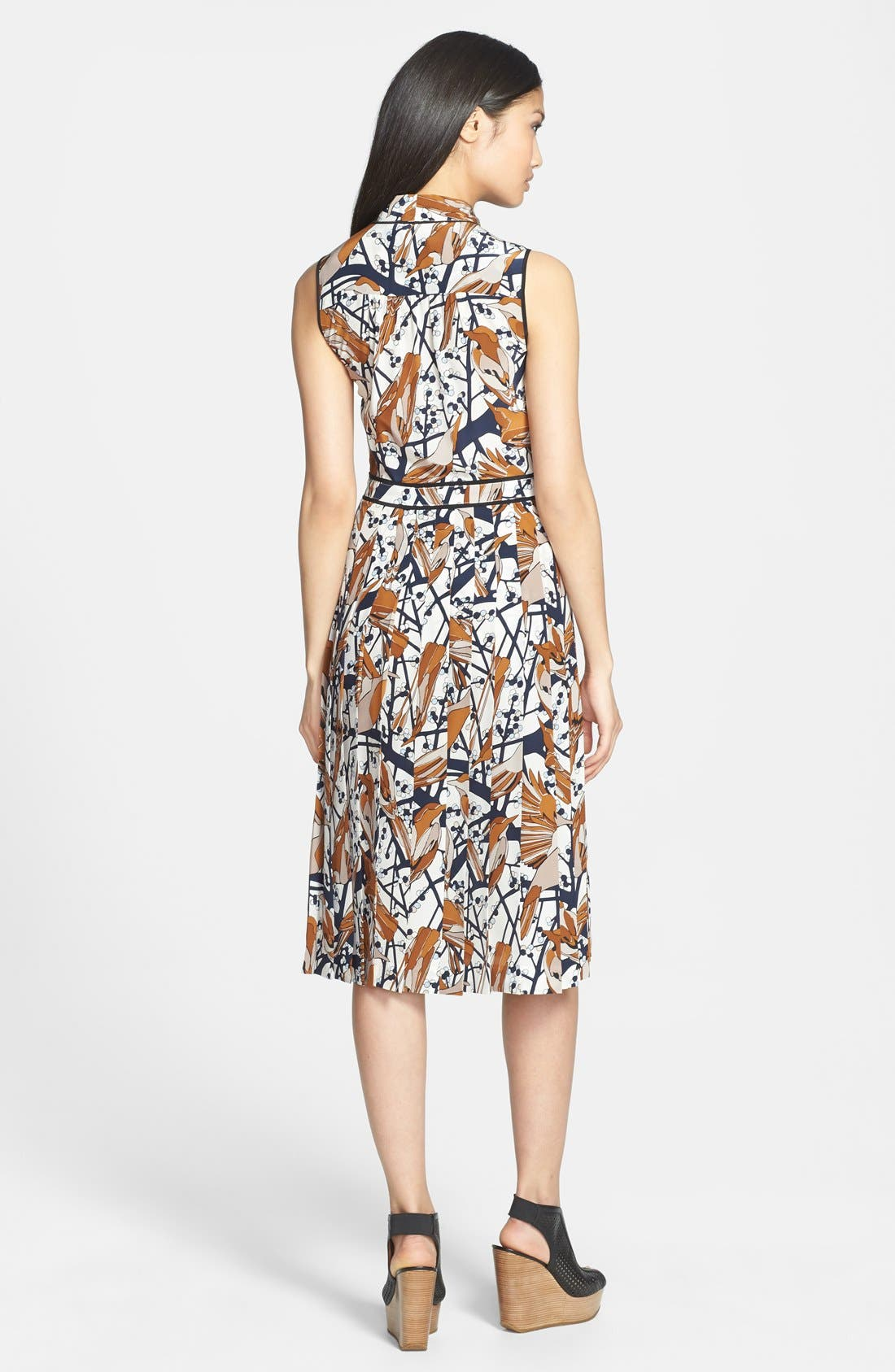 Alternate Image 2  - MARC BY MARC JACOBS 'Nightingale' Print Silk Fit & Flare Dress