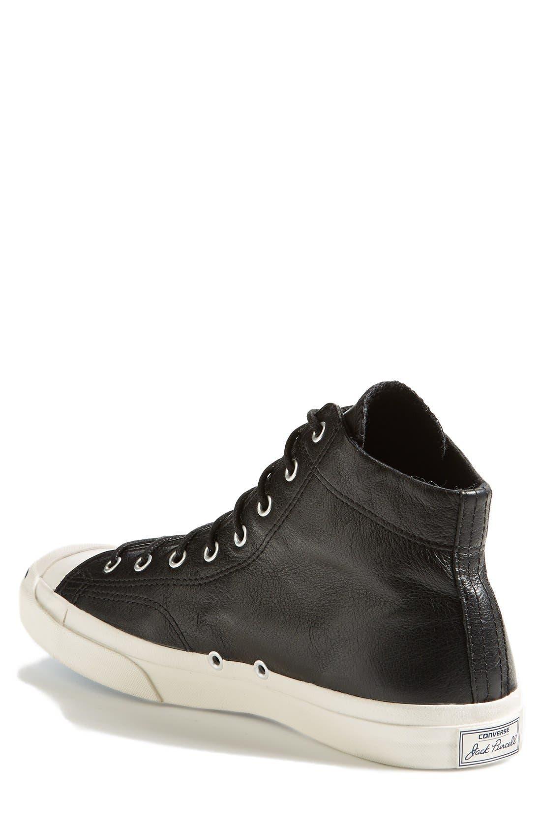 Alternate Image 2  - Converse 'Jack Purcell - Jack Mid' Sneaker (Men) (Online Only)