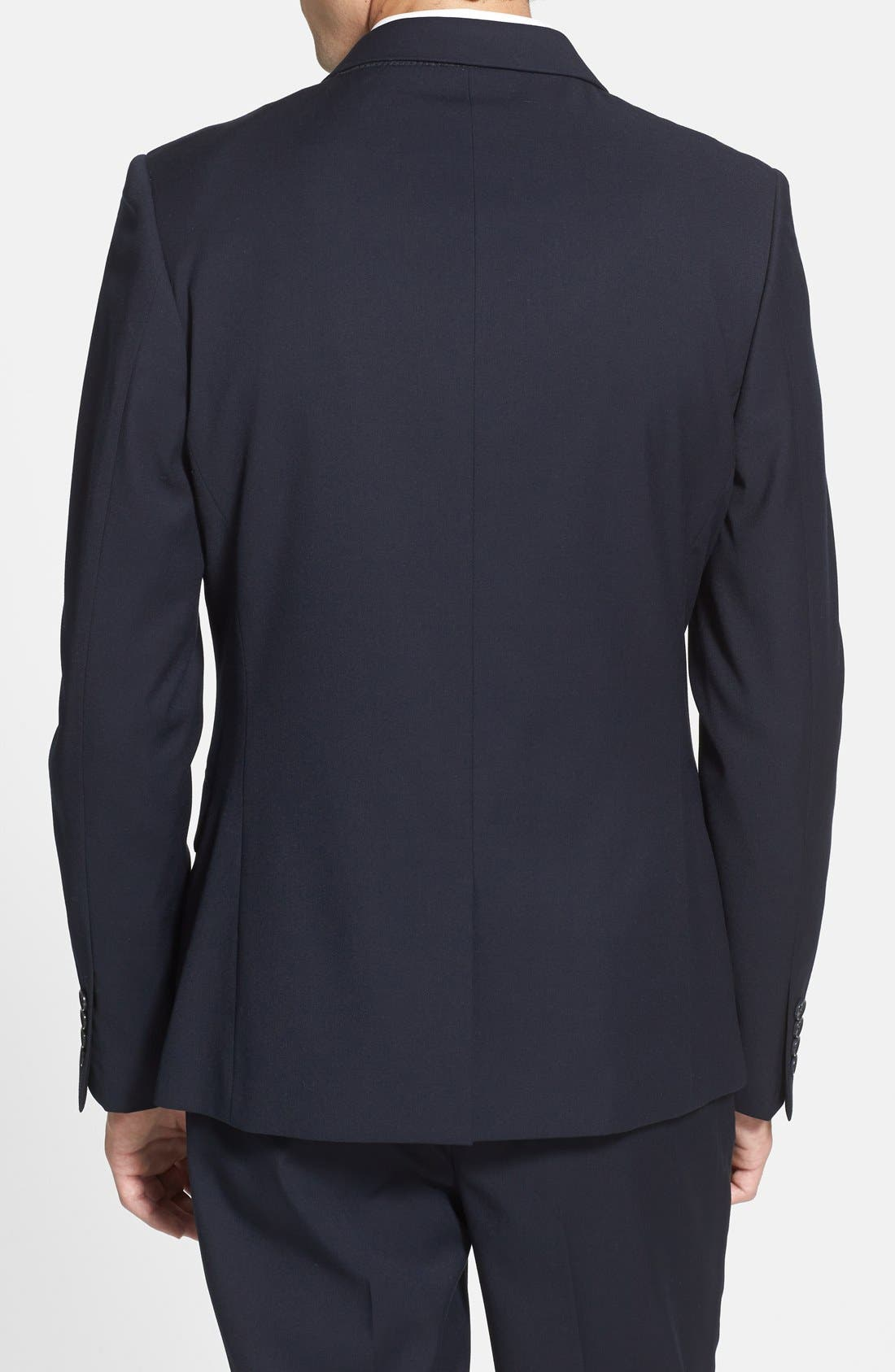 Alternate Image 2  - Topman Skinny Fit Suit Jacket
