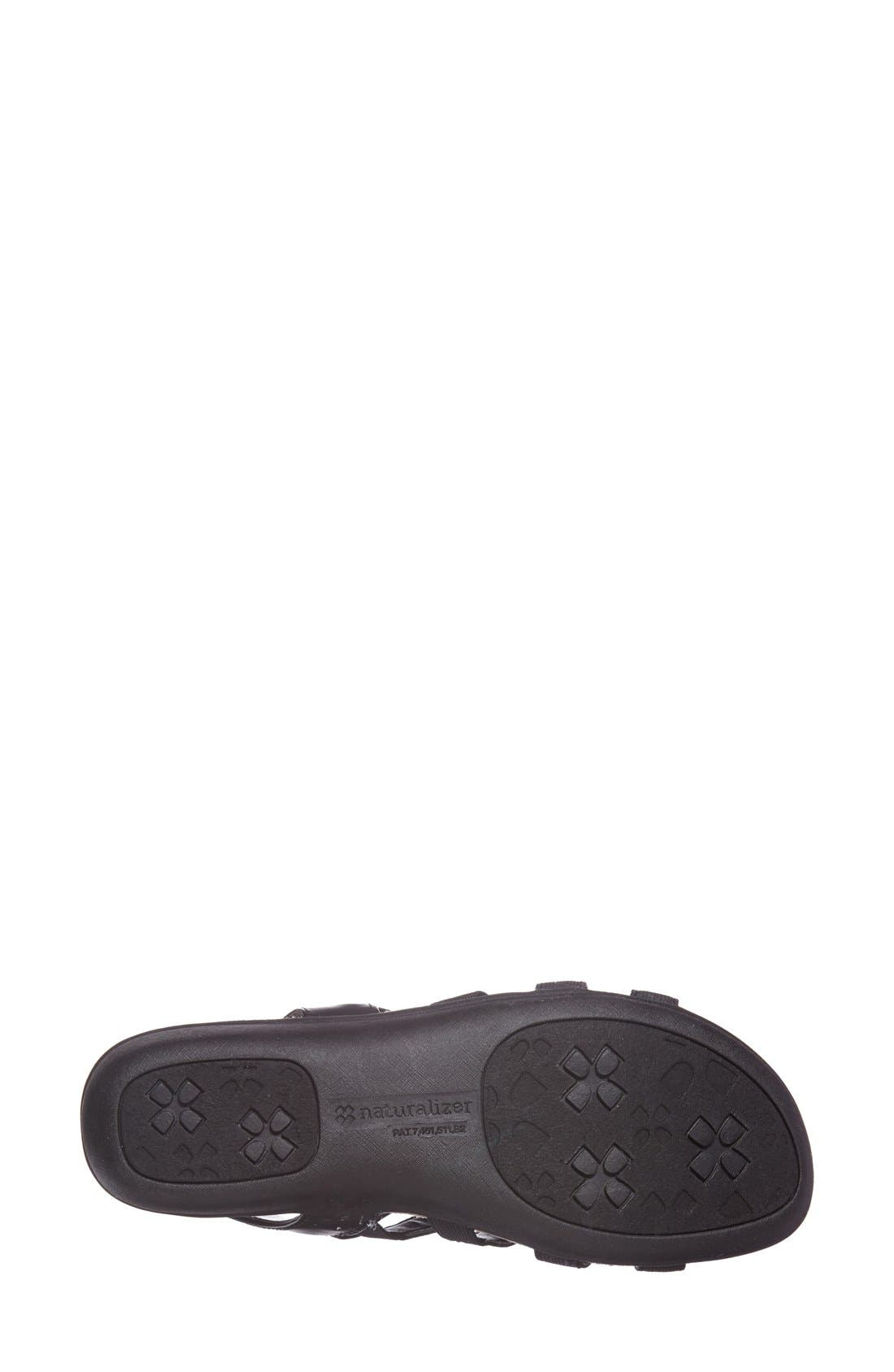 Alternate Image 4  - Naturalizer 'Wyonna' Leather Sandal (Women)