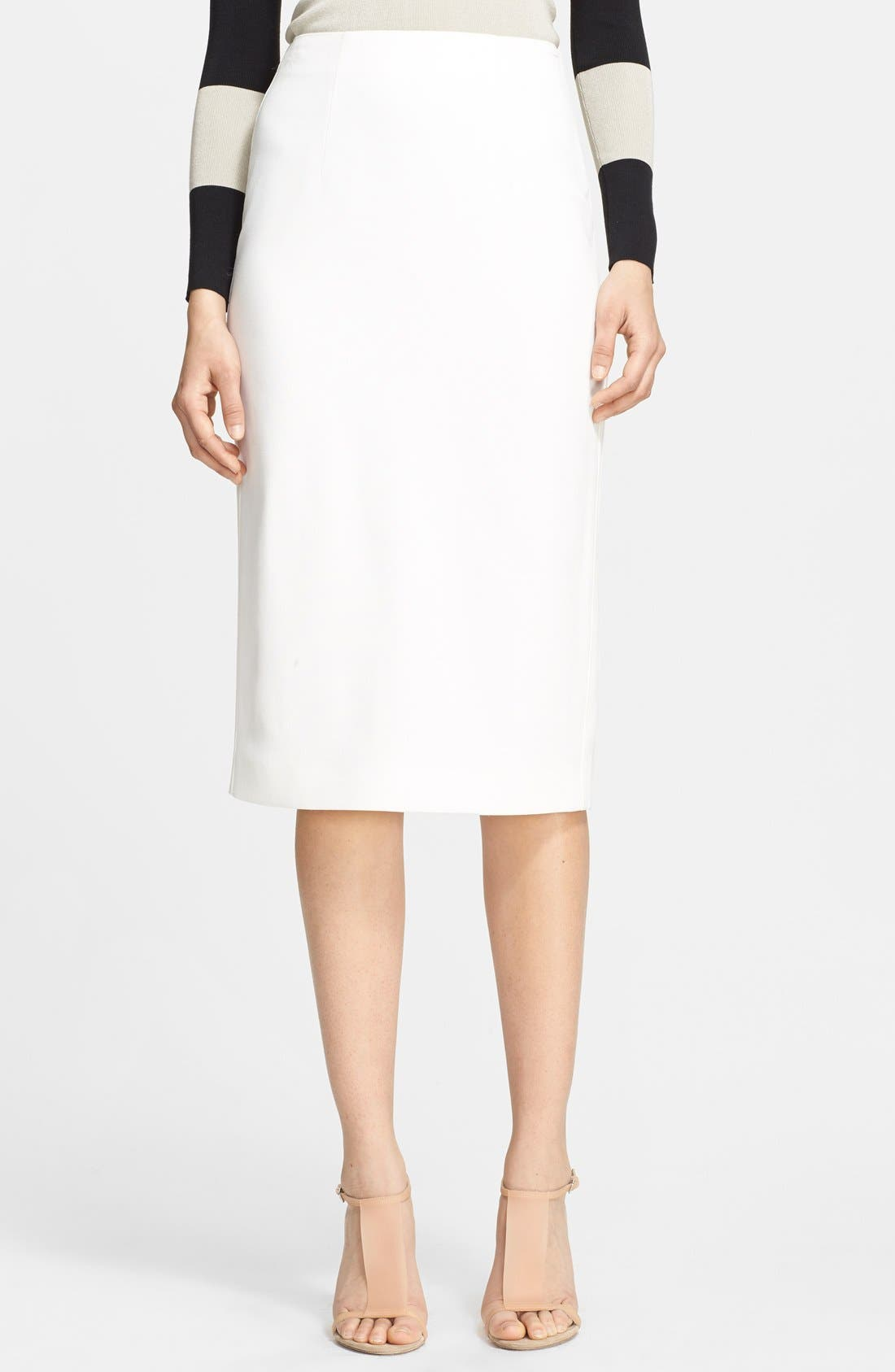 Alternate Image 1 Selected - Burberry London Pencil Skirt