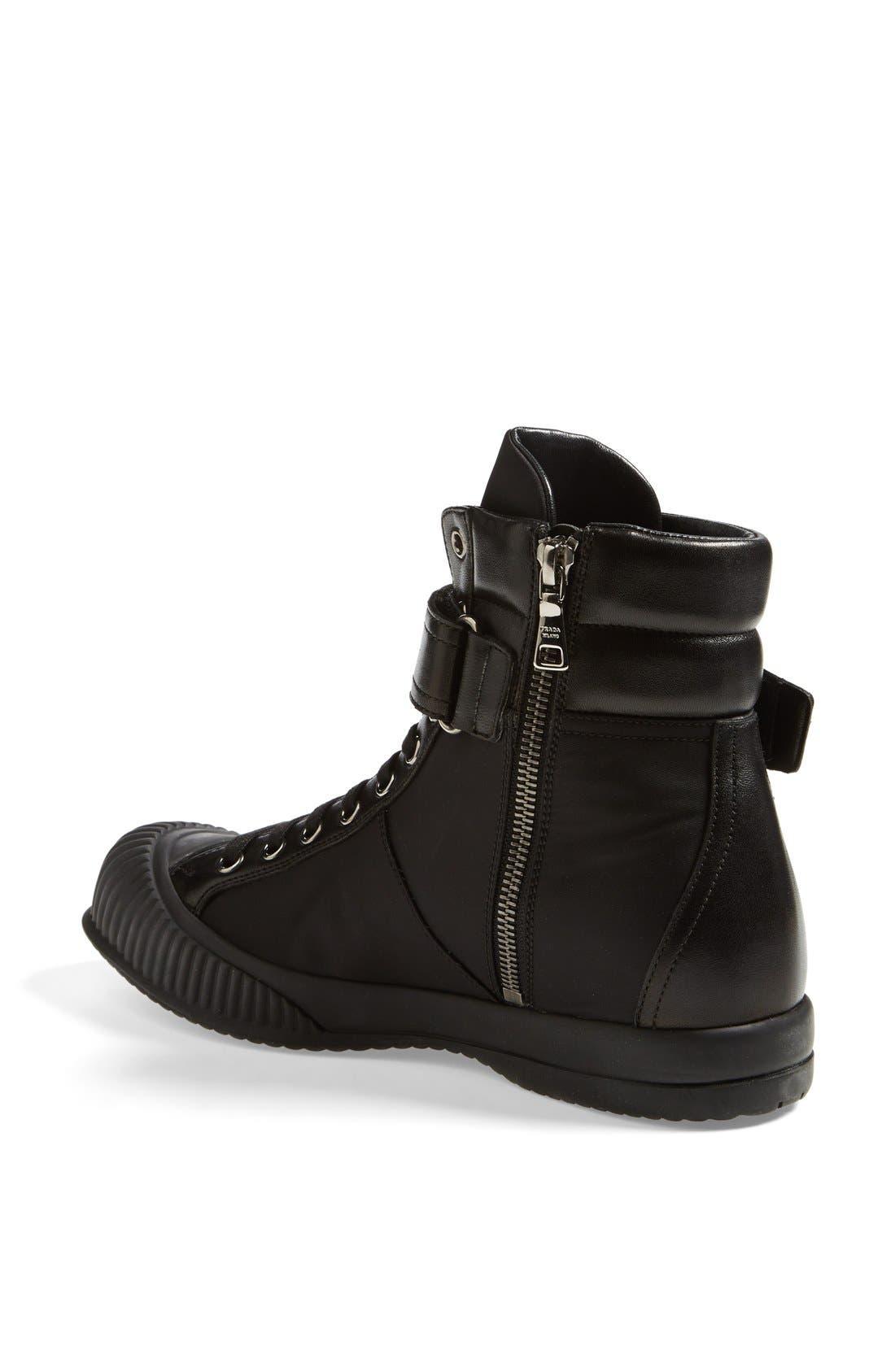 Alternate Image 2  - Prada Sport High Top Sneaker (Women)