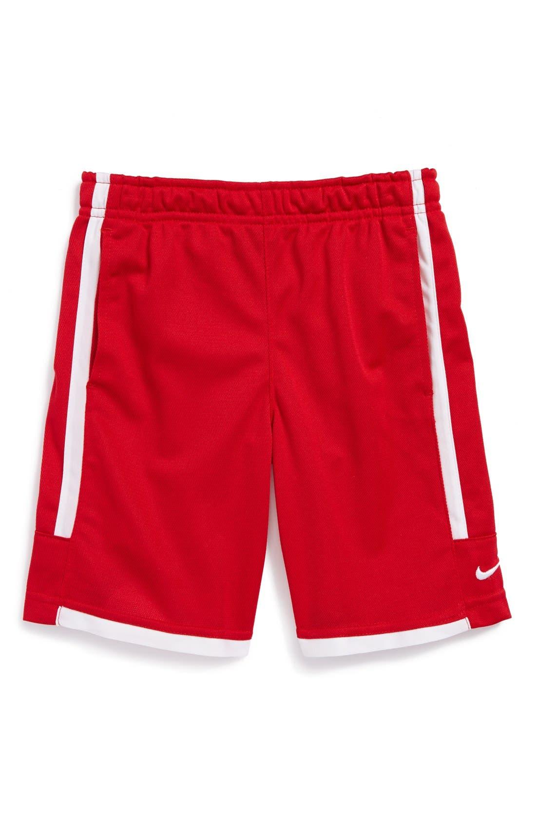 Alternate Image 1 Selected - Nike 'Double' Dri-FIT Shorts (Little Boys)