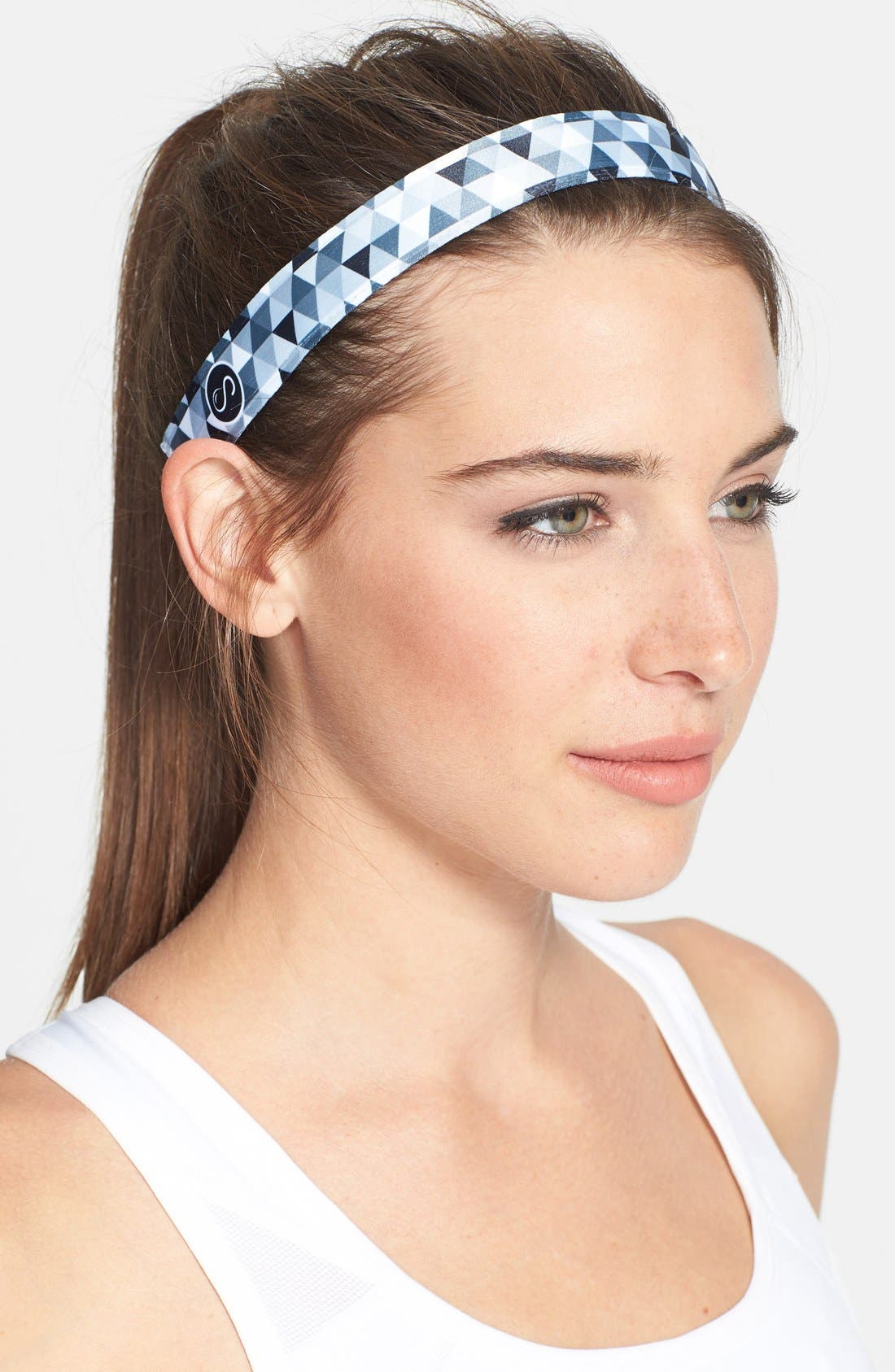 Alternate Image 1 Selected - Sweaty Bands 'Love Triangle' Head Wrap