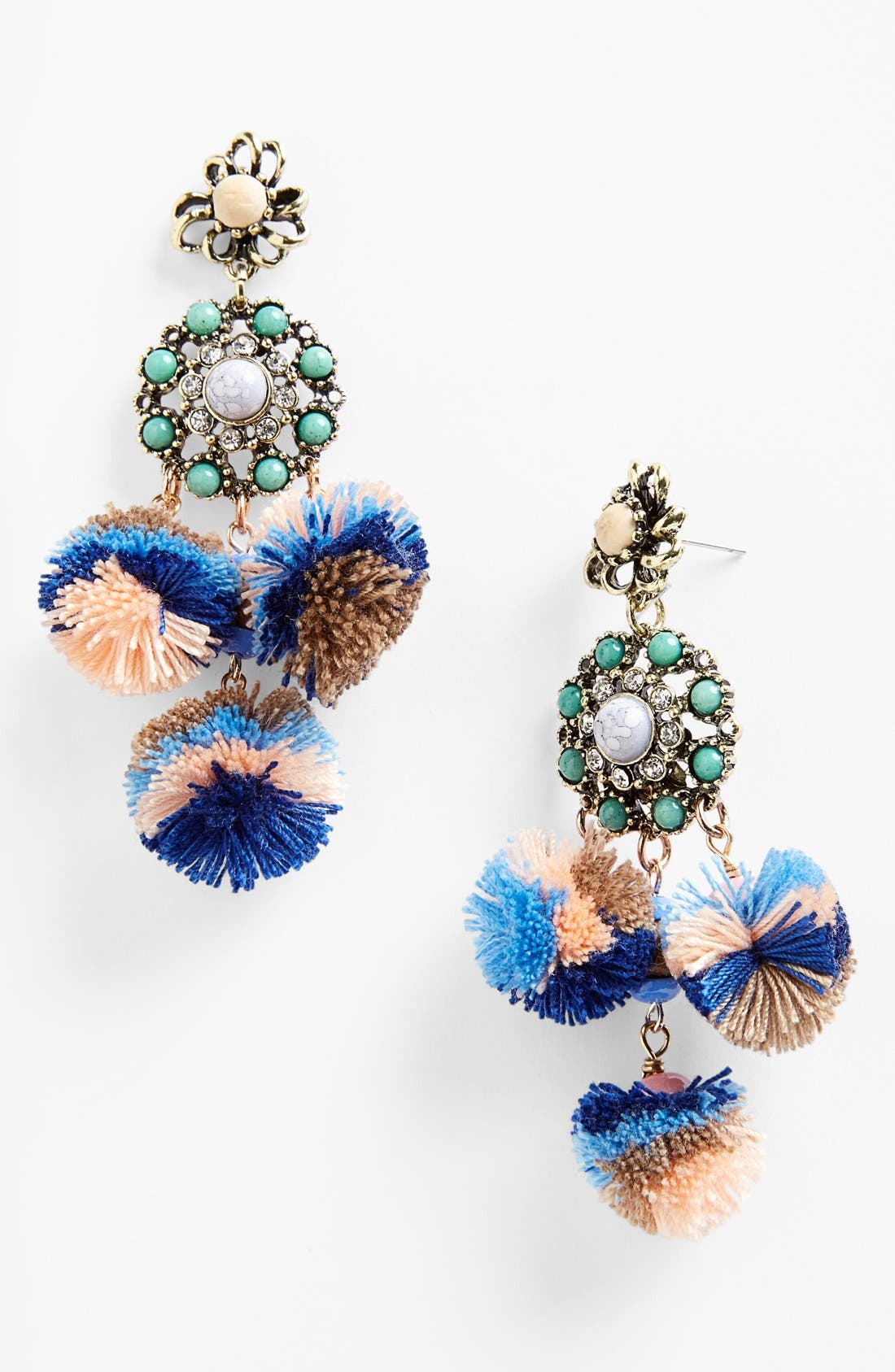 Main Image - Missing Piece 'Pom Pom' Earrings
