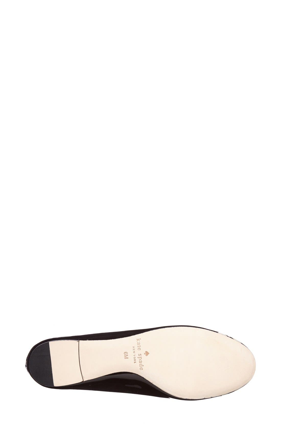 Alternate Image 4  - kate spade new york 'jazz' flat (Women)