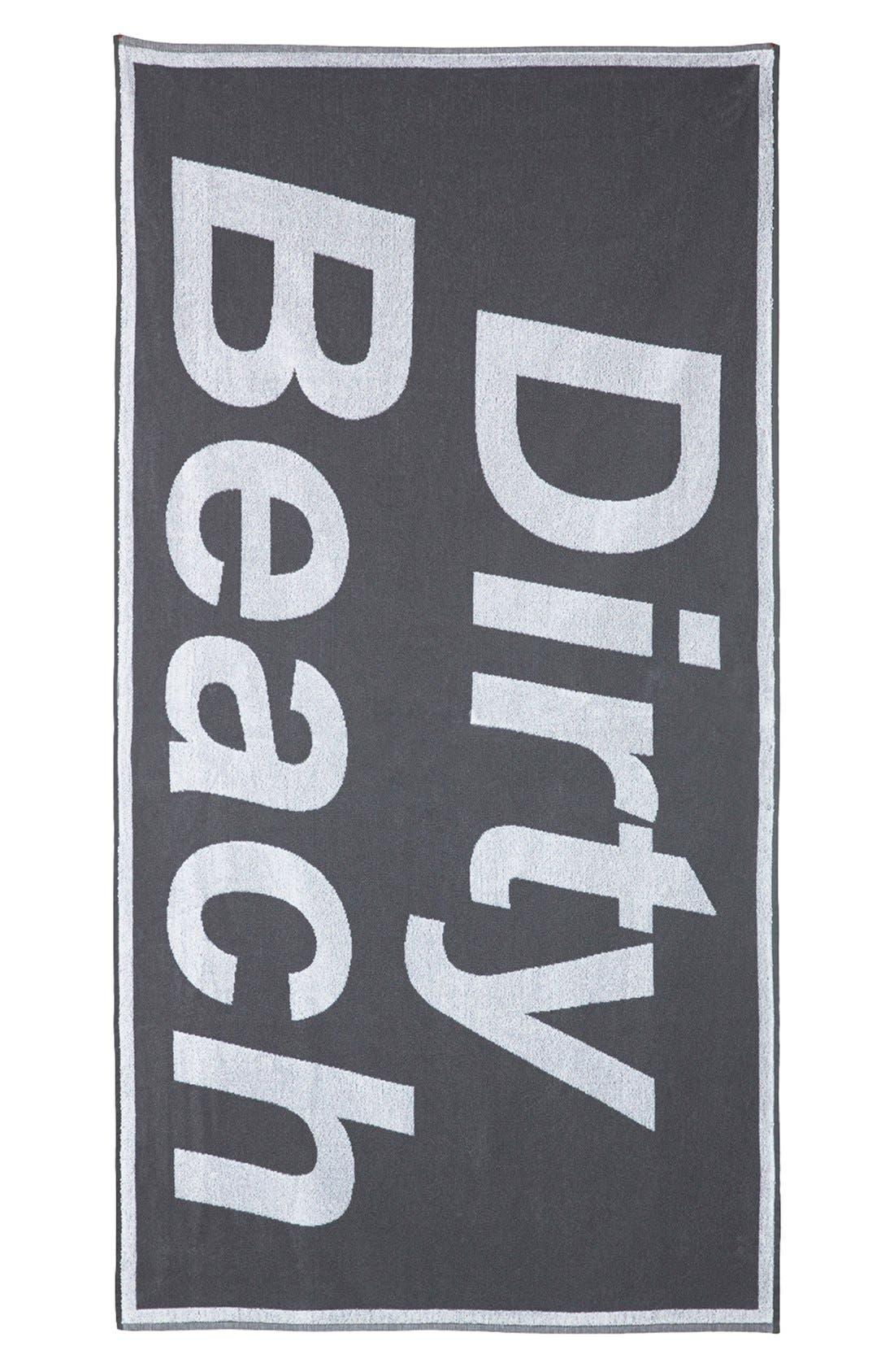 Alternate Image 2  - Ashish x Topshop 'Dirty Beach' Towel