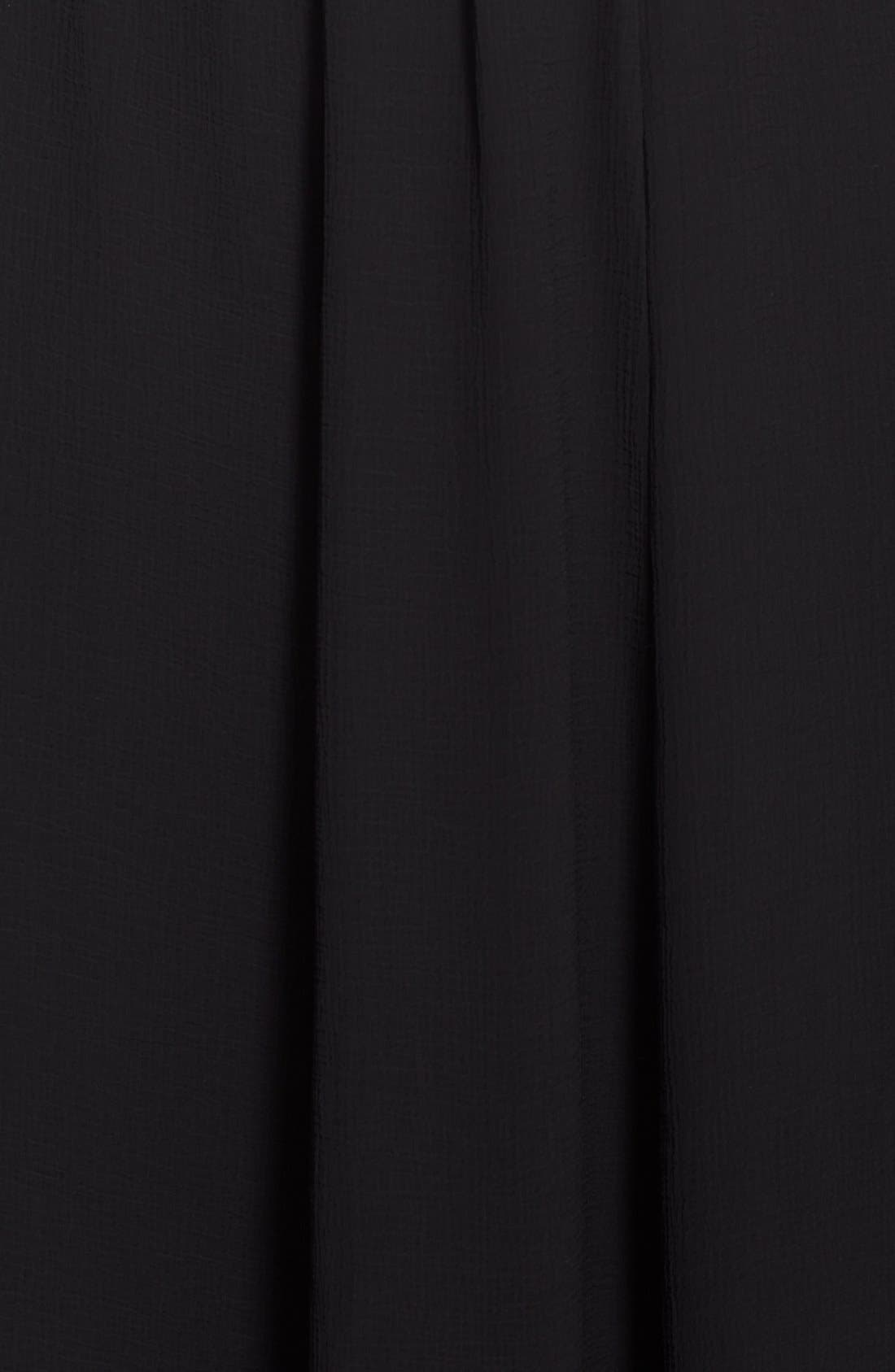 Alternate Image 3  - Vince Camuto Sheer Pleat Maxi Skirt (Plus Size)