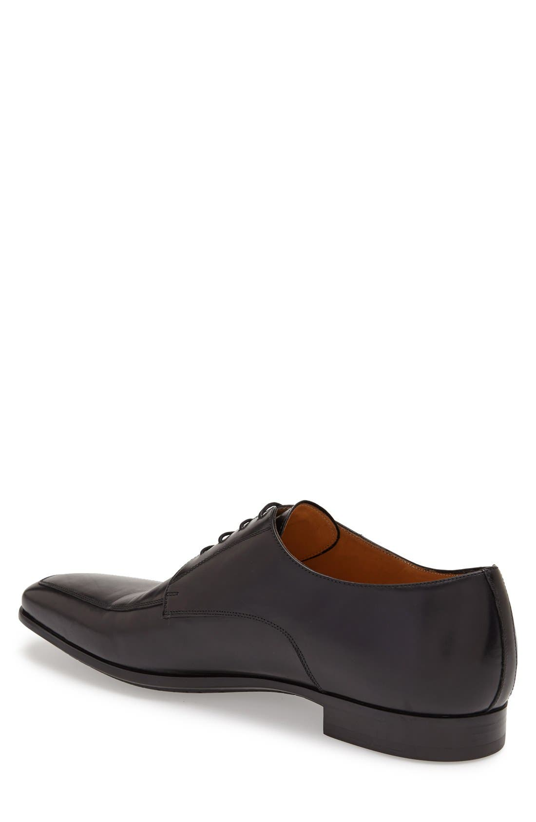 Alternate Image 2  - Santoni 'Prichard' Apron Toe Derby (Men)