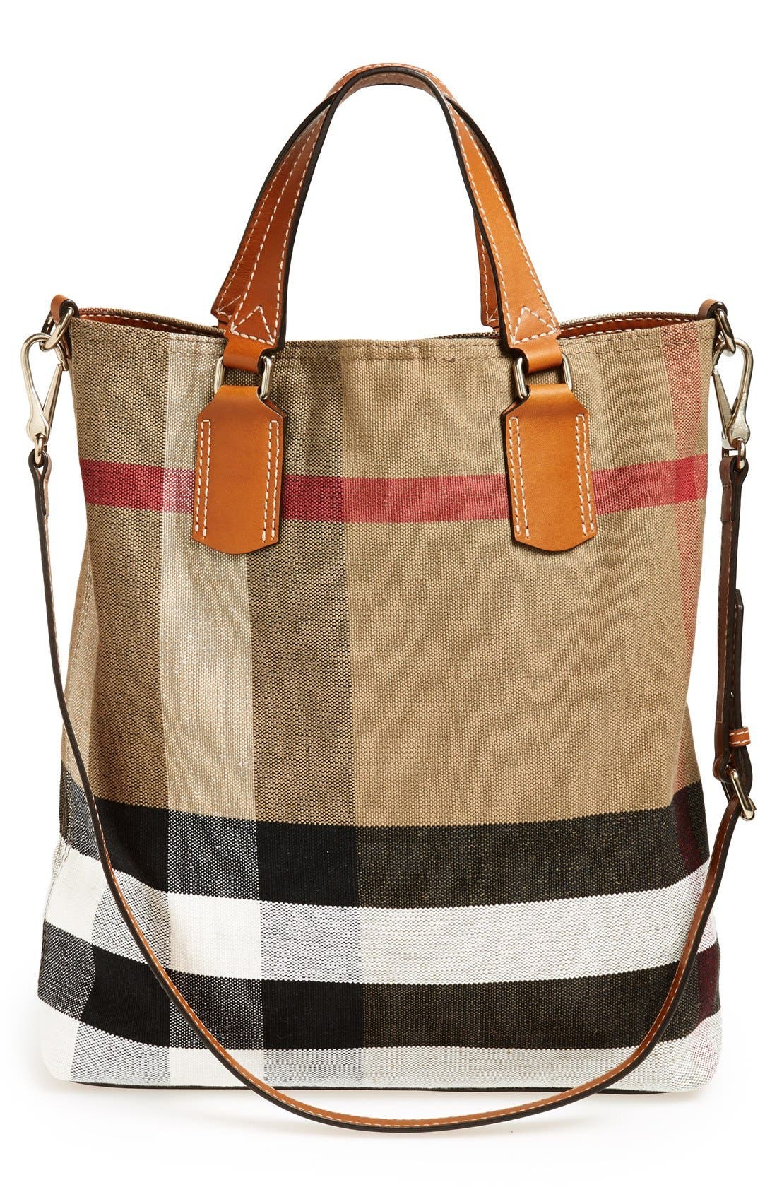 Alternate Image 4  - Burberry Brit 'Medium Tottenham' Check Print Bucket Tote