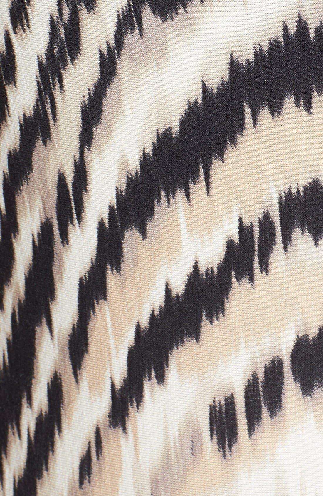 Alternate Image 3  - wallis Swirled Animal Print Maxi Dress