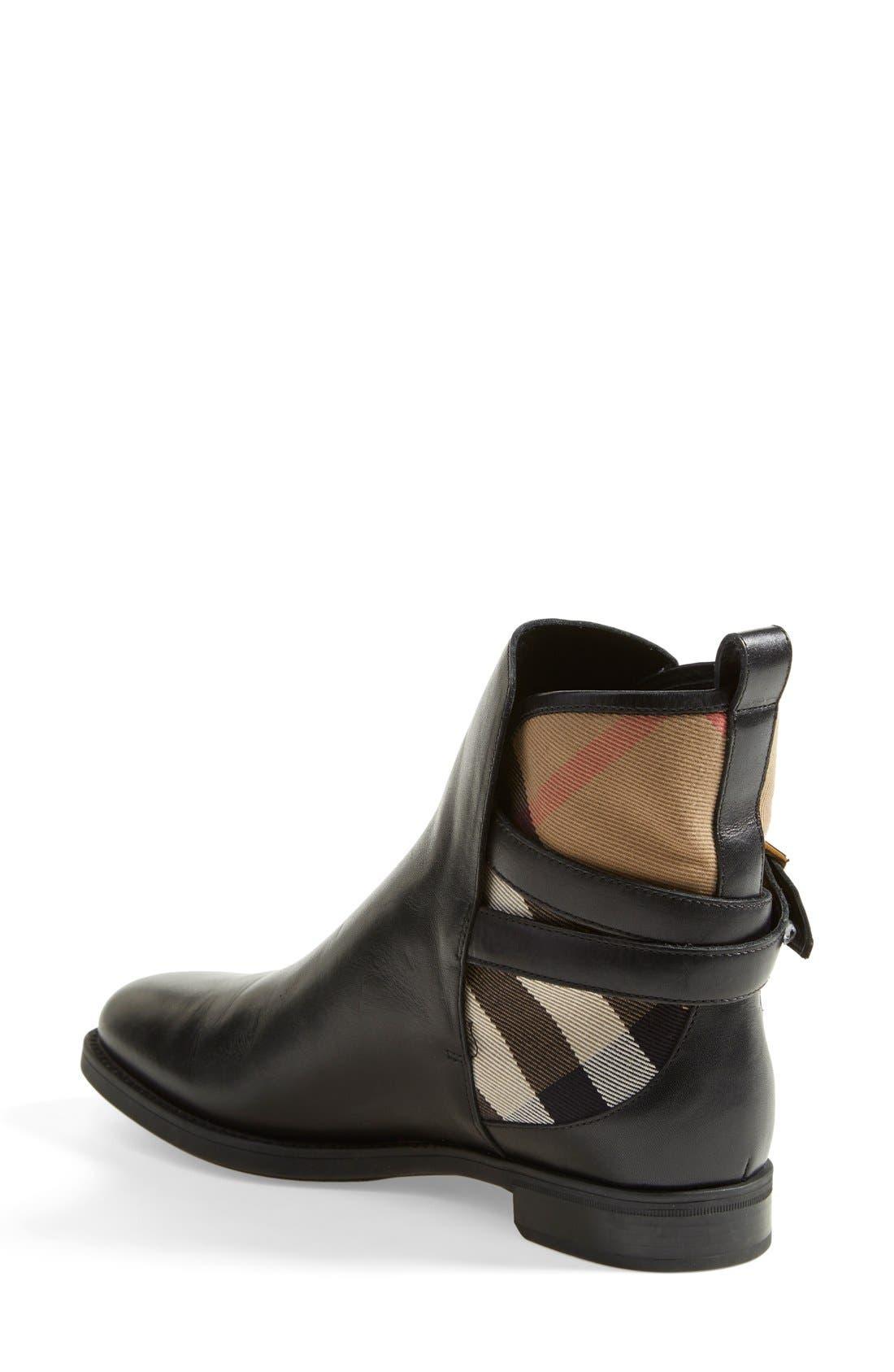 Alternate Image 2  - Burberry 'Richardson' Leather Boot (Women)