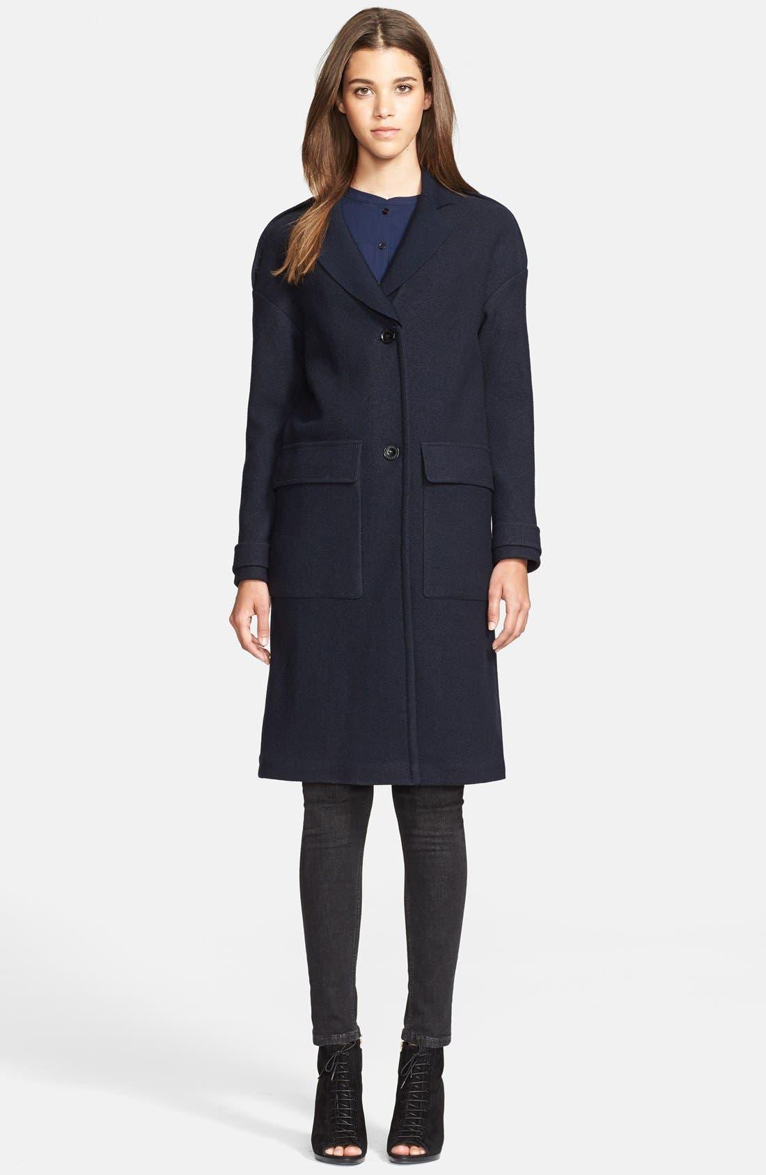 Alternate Image 1 Selected - Burberry Brit 'Tylesmead' Wool Coat
