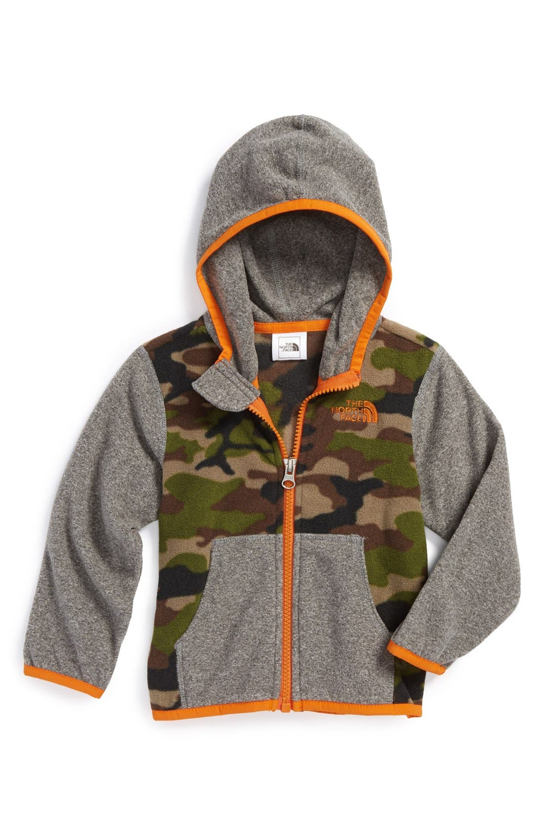 Main Image - The North Face 'Glacier' Hoodie (Baby Boys)