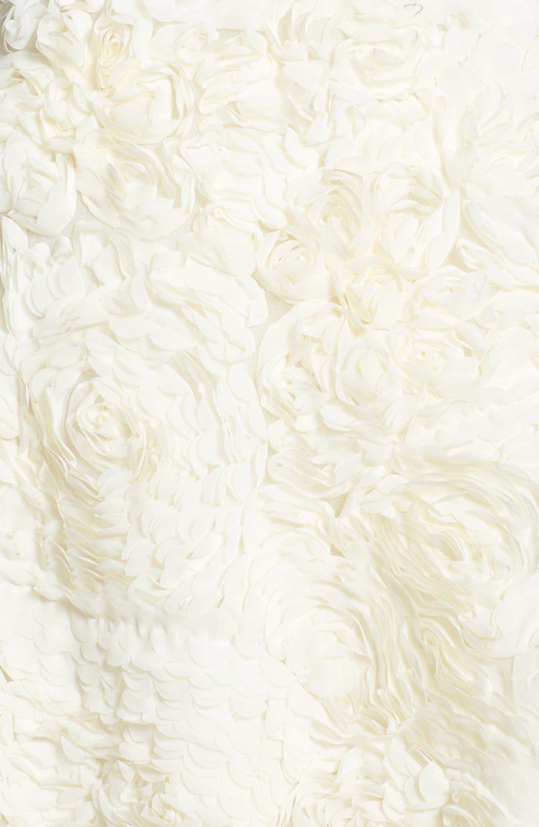 Alternate Image 3  - Ted Baker London 'Flawra' Rosette Detail Fit & Flare Dress