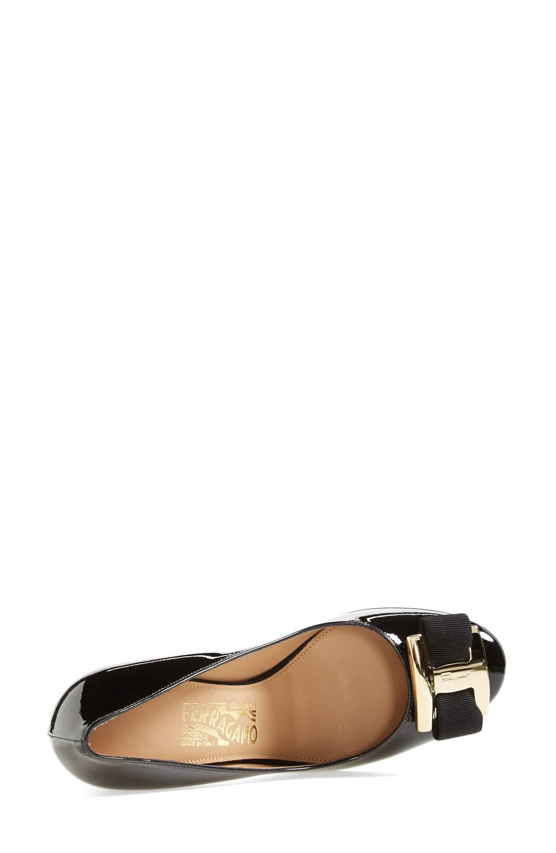 Alternate Image 4  - Salvatore Ferragamo 'Ninna 85' Pump (Women)