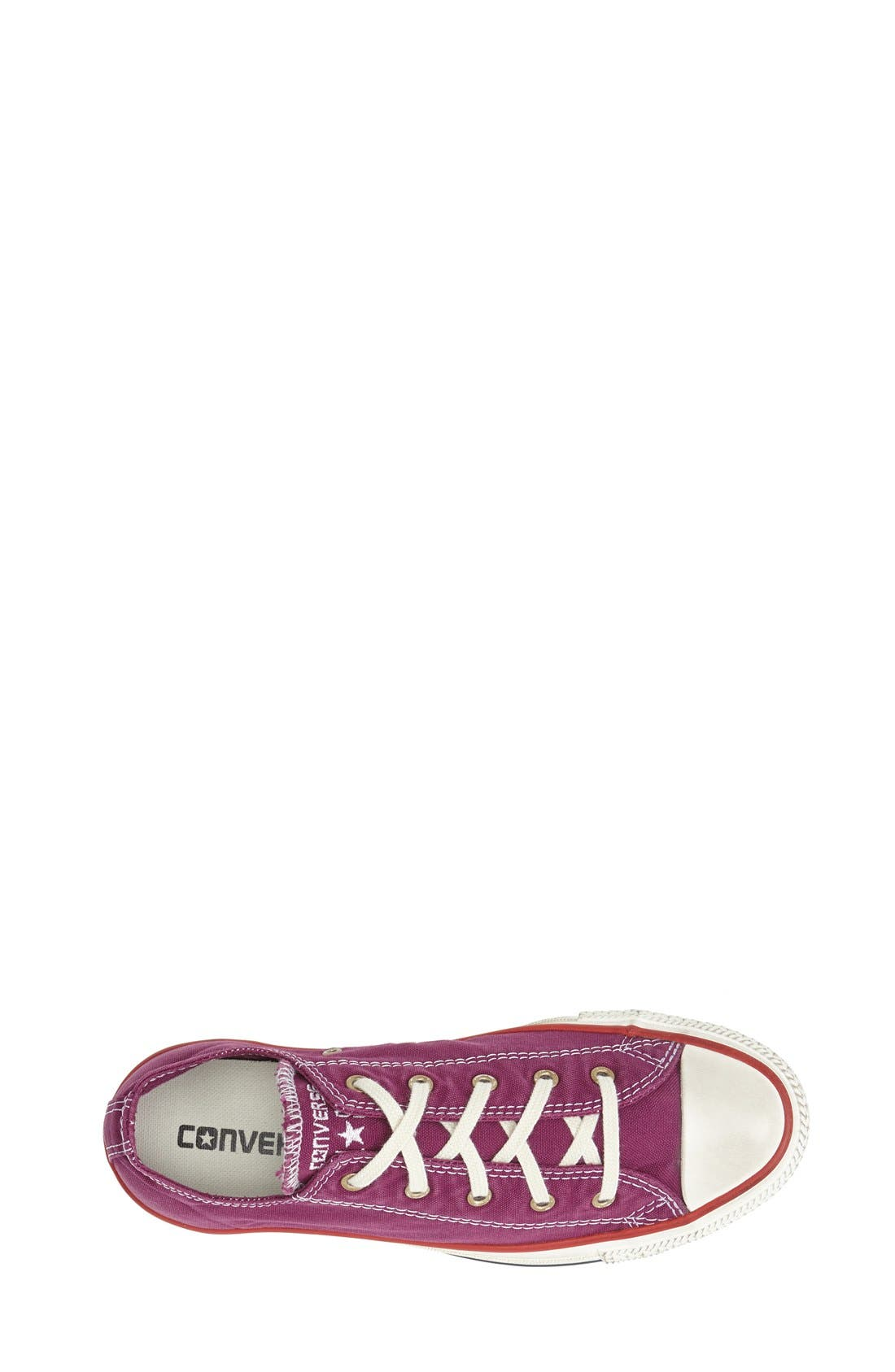 Alternate Image 3  - Converse Chuck Taylor® All Star® Washed Low Sneaker (Women)