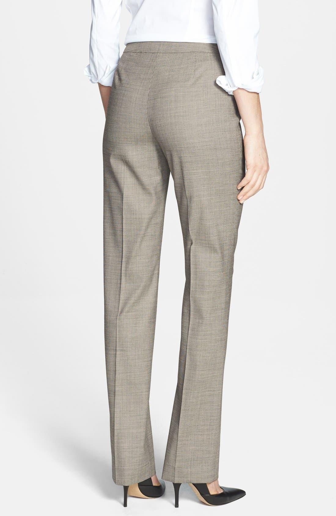 Alternate Image 2  - Lafayette 148 New York 'Barrow - Ritz' Suiting Pants (Regular & Petite)