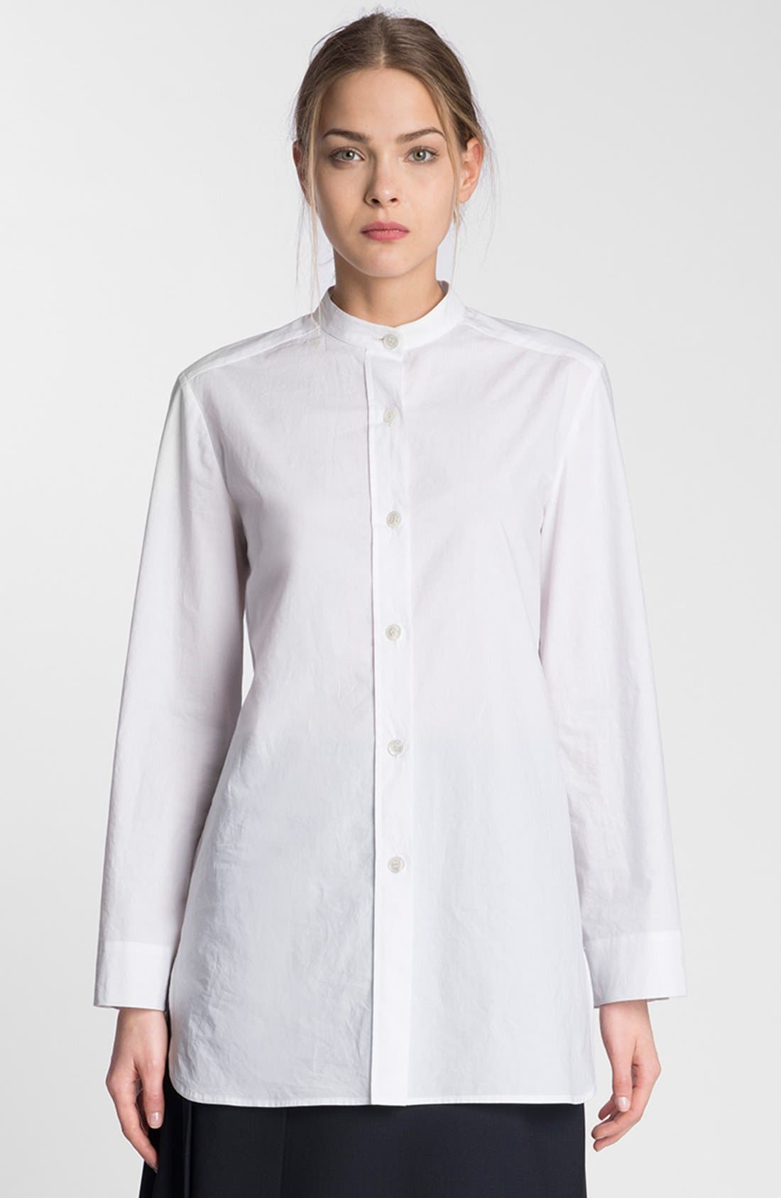 Alternate Image 1 Selected - Marni Cotton Tunic Shirt