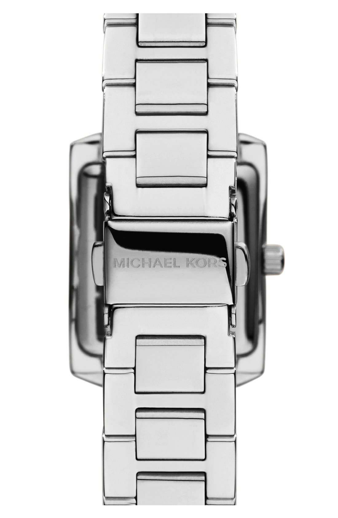 Alternate Image 2  - Michael Kors 'Petite Emery' Crystal Accent Bracelet Watch, 33mm