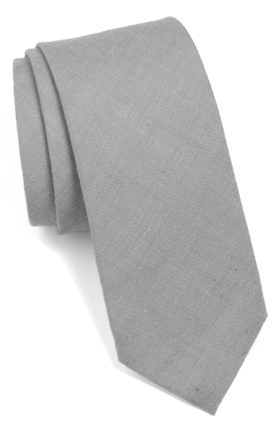 Alternate Image 1 Selected - 1901 Woven Cotton Tie