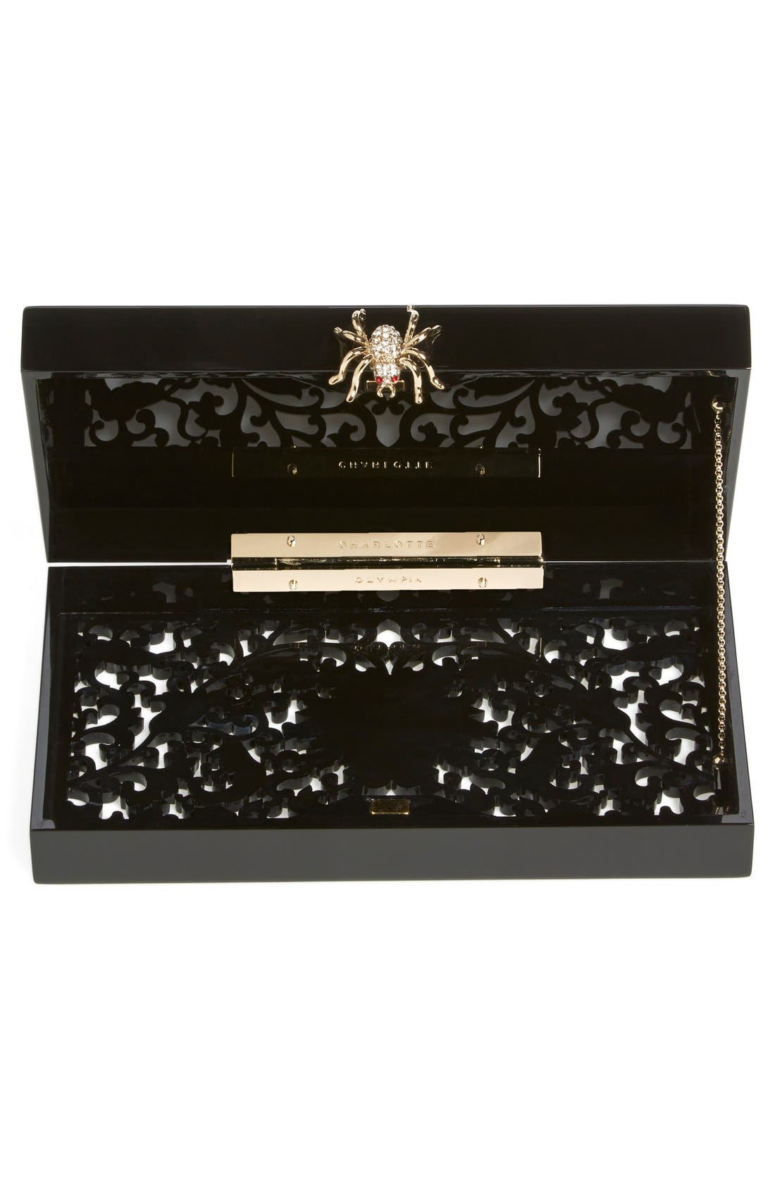 Alternate Image 2  - Charlotte Olympia 'Pandora - Ornate' Clutch