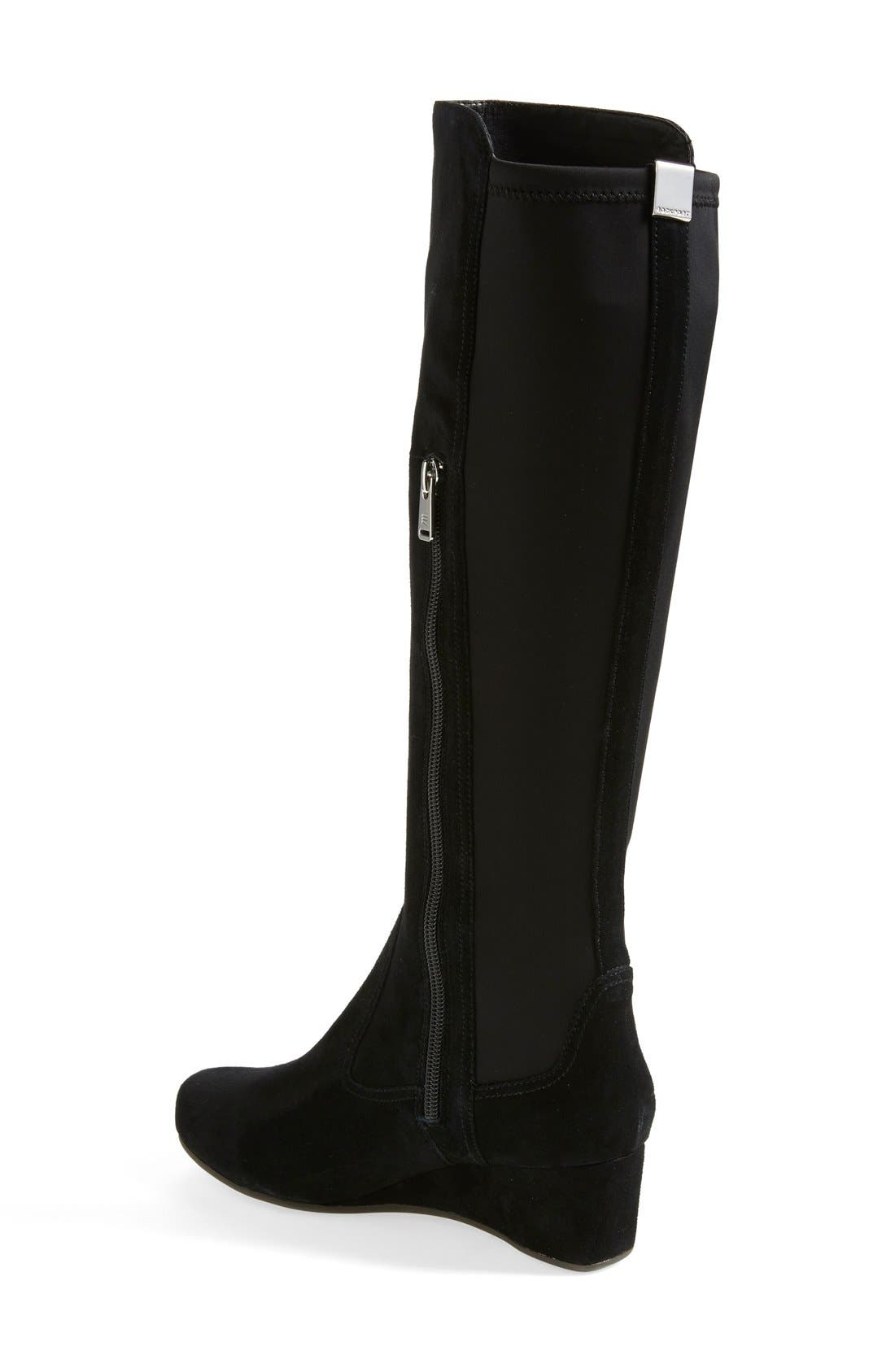 Alternate Image 2  - Rockport 'Total Motion' Suede Boot (Wide Calf) (Women)
