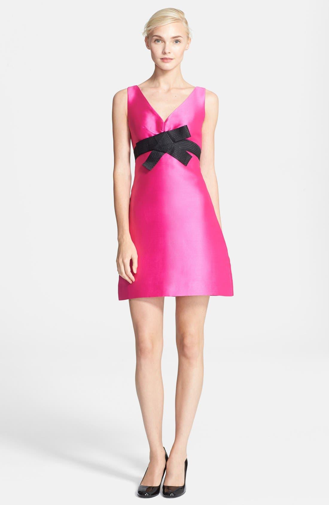 Alternate Image 1 Selected - kate spade new york 'origami' a-line dress