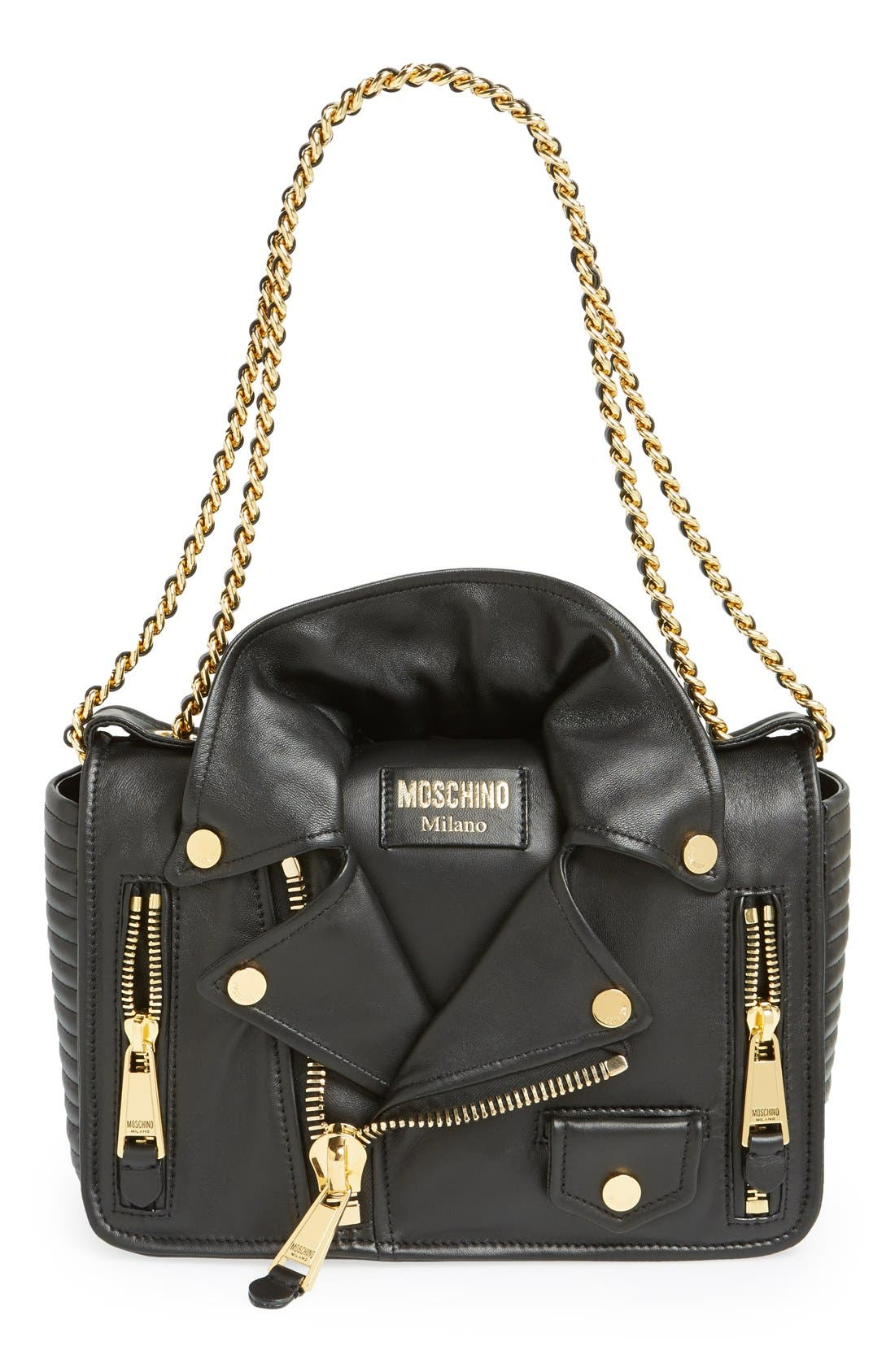 Moschino 'Biker Jacket' Shoulder Bag | Nordstrom