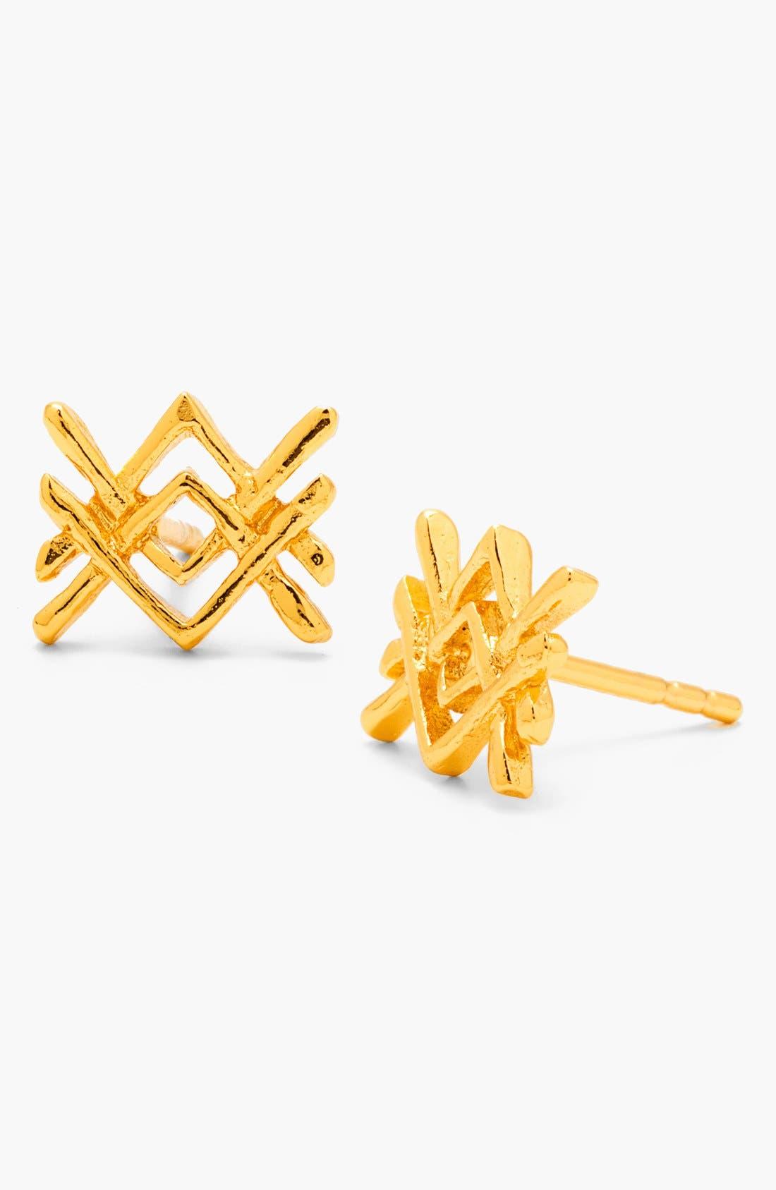 Alternate Image 1 Selected - gorjana 'Mesa' Stud Earrings