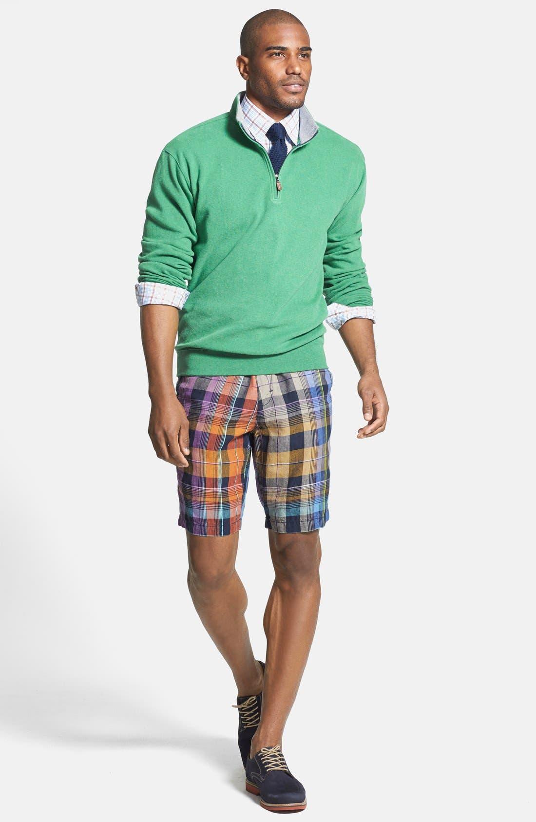 Alternate Image 4  - Tommy Bahama 'Weave Master' Linen Shorts (Big)