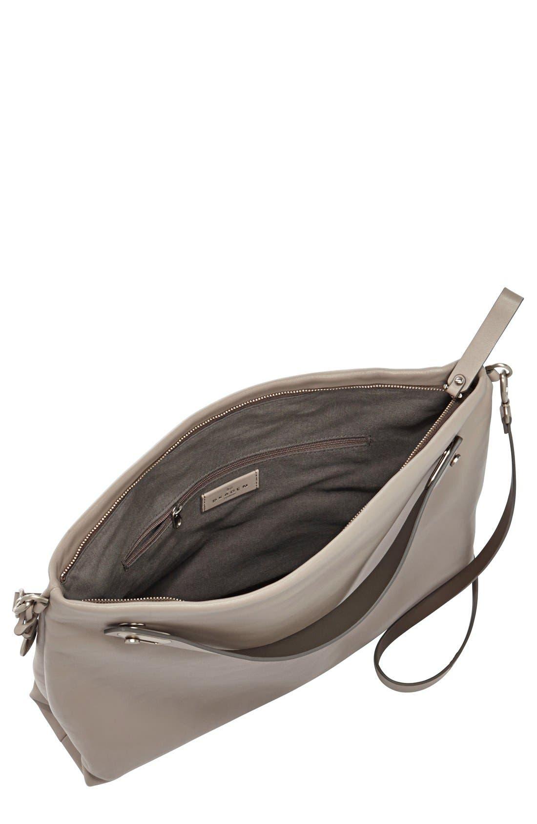 Alternate Image 2  - Skagen 'Mikkeline' Leather Satchel