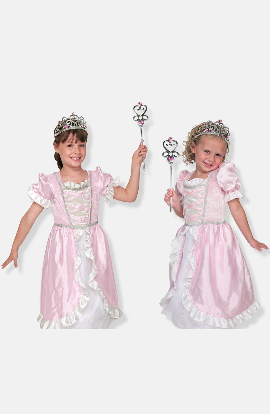 Personalized Princess Costume,                         Main,                         color, Pink
