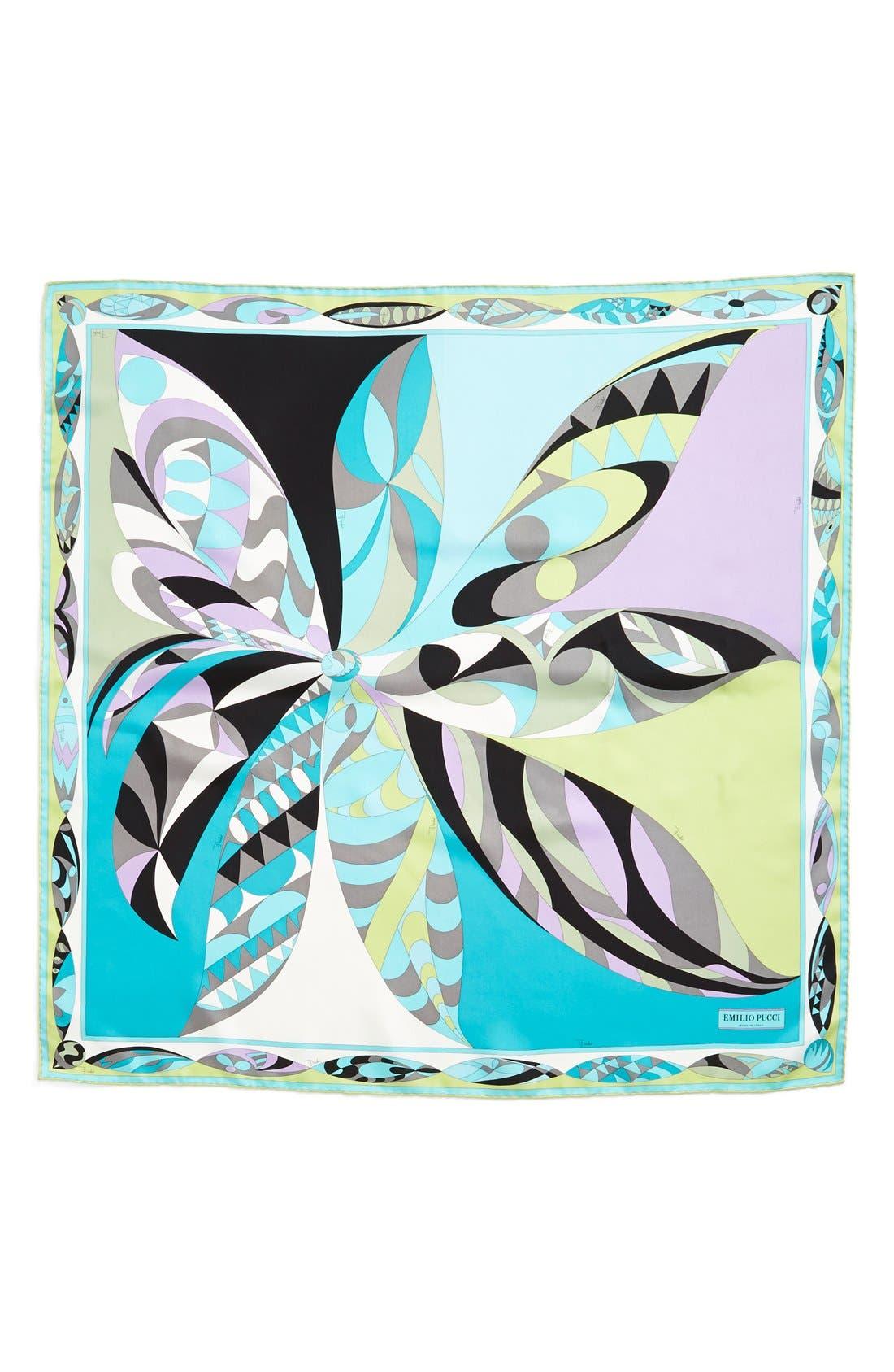Alternate Image 2  - Emilio Pucci 'Uzbeki' Floral Print Silk Scarf