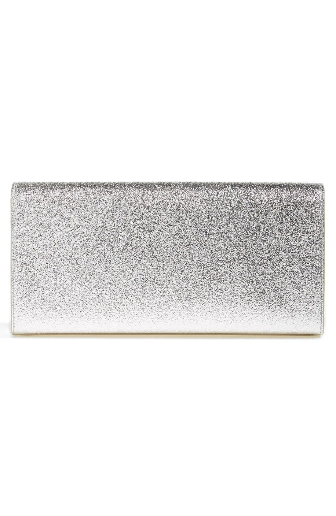 Alternate Image 3  - Saint Laurent 'Cassandre' Leather Clutch
